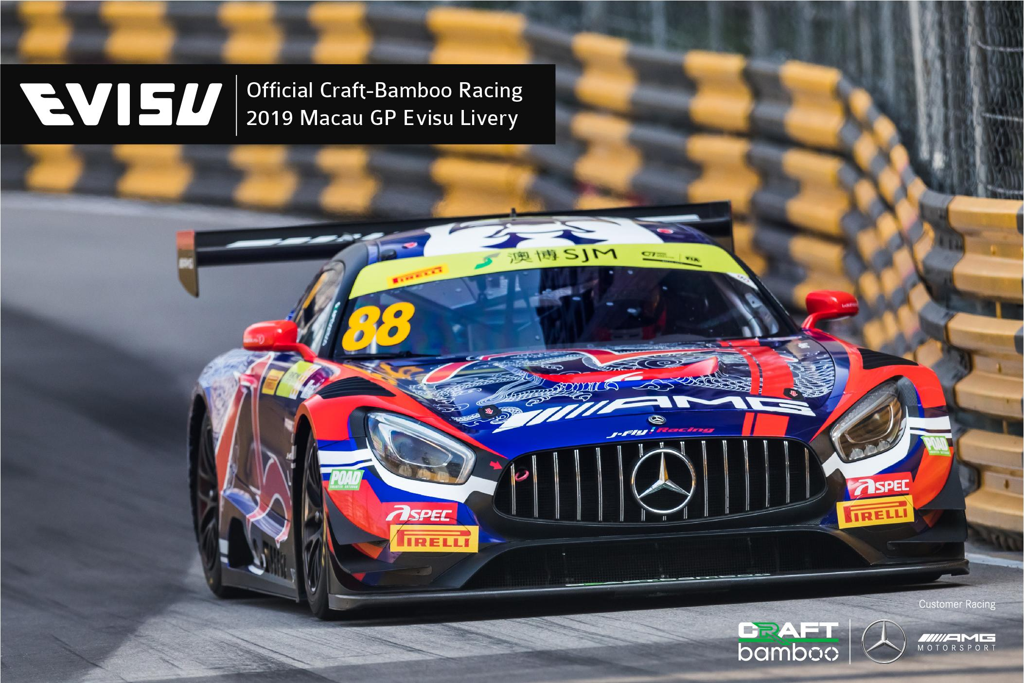 Preview of Official Craft-Bamboo Racing - 2019 Macau GP Evisu Livery by Arthur T.