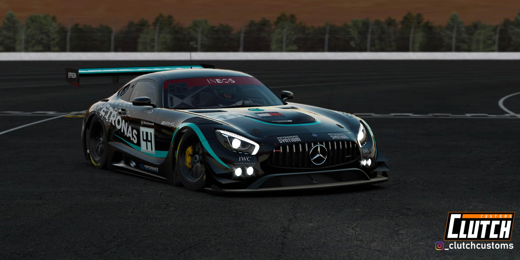 Preview of Mercedes AMG W11-GT3 - Black Edition by Matthew D.