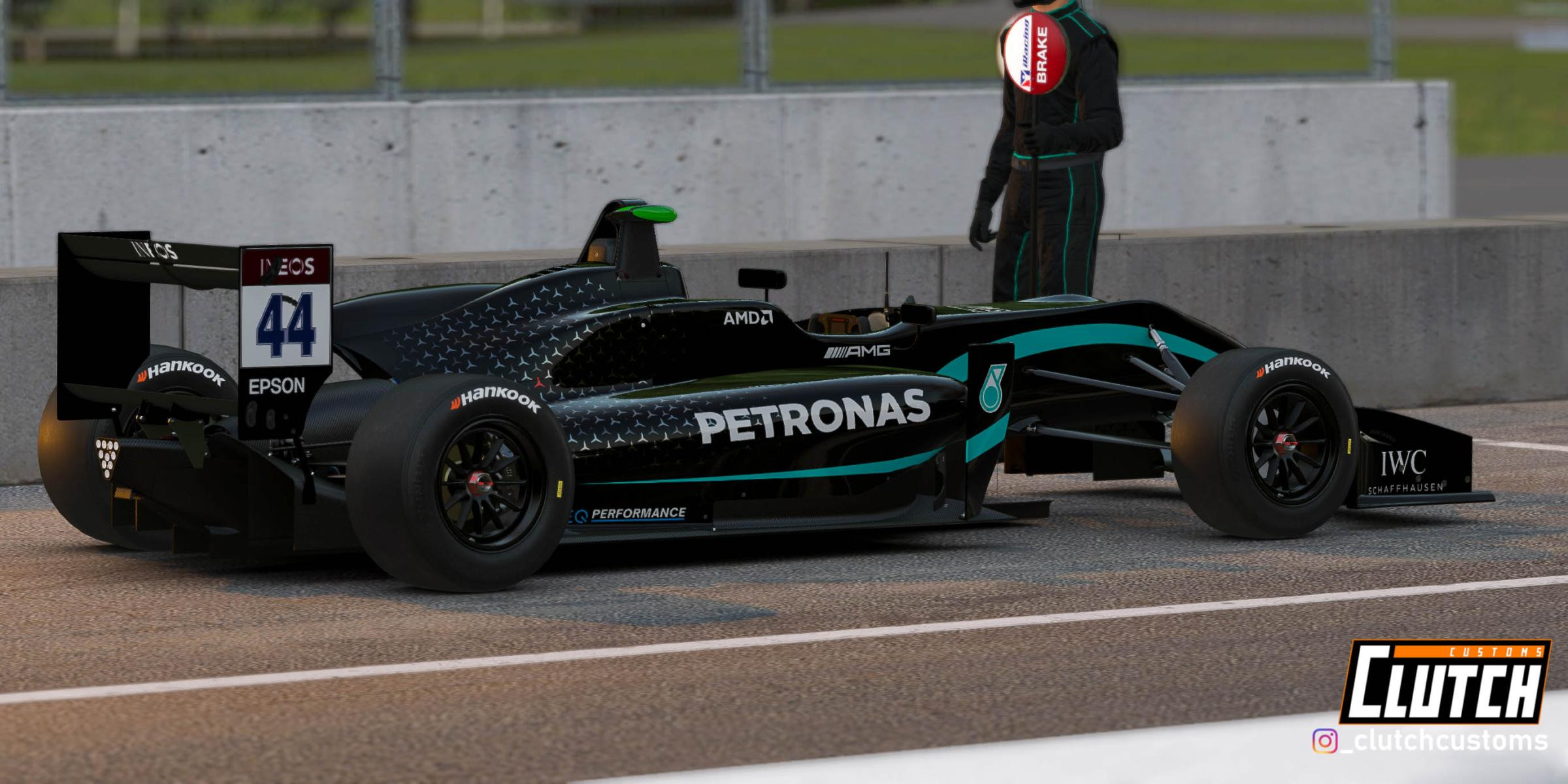Preview of Mercedes AMG W11-F3 Black Edition by Matthew D.