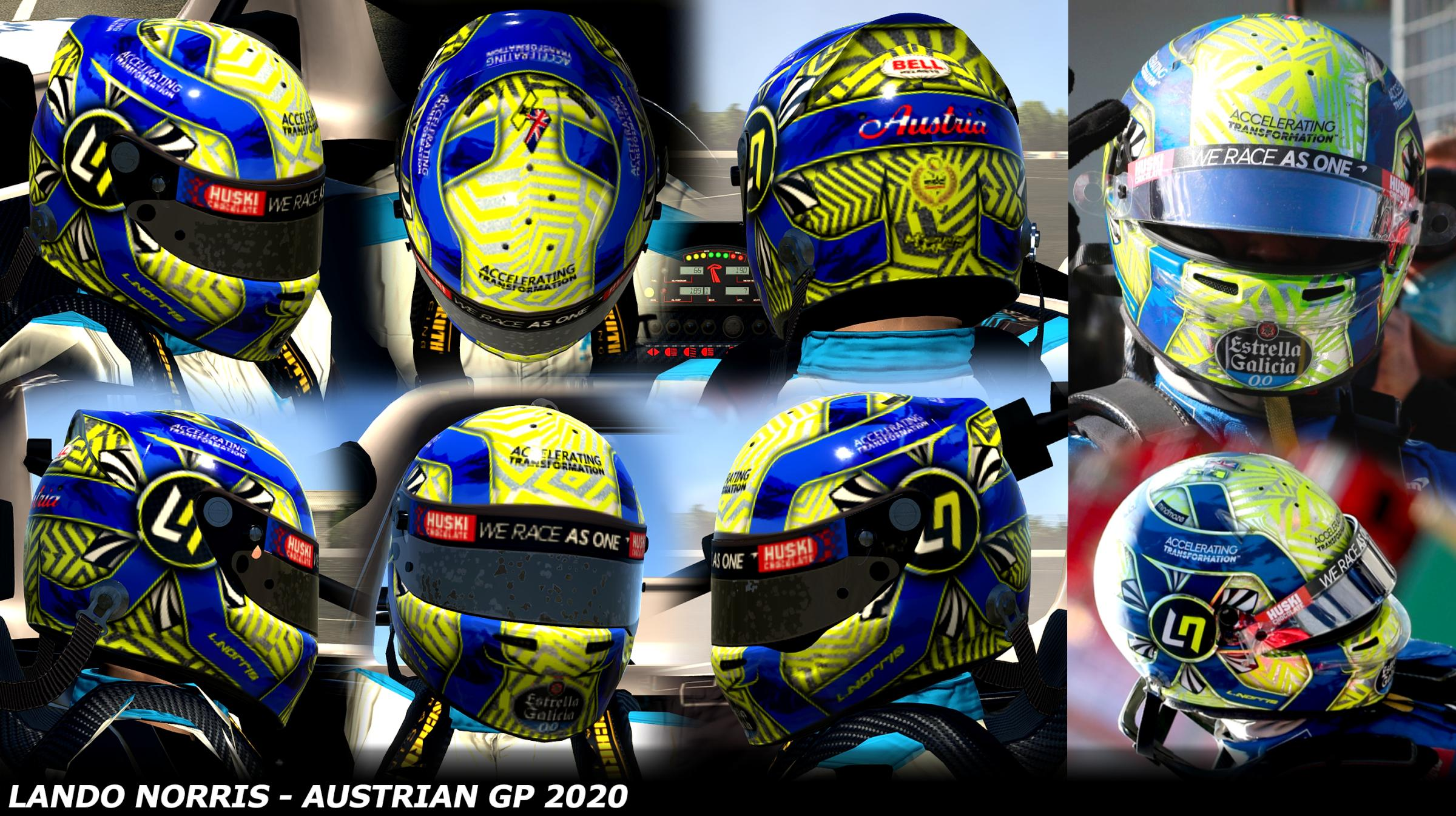 Preview of Lando Norris - Austrian GP 2020 by George Simmons
