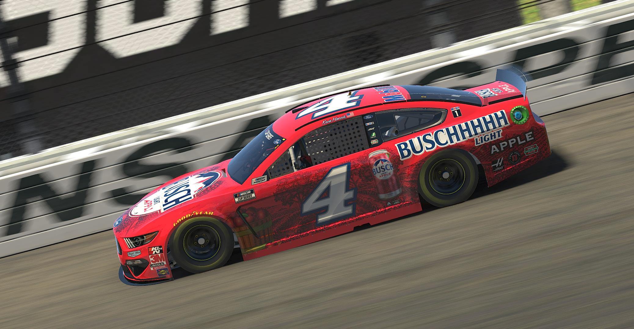 Preview of Kevin Harvick Busch Light Apple - Custom Numbers by Ryan Hines