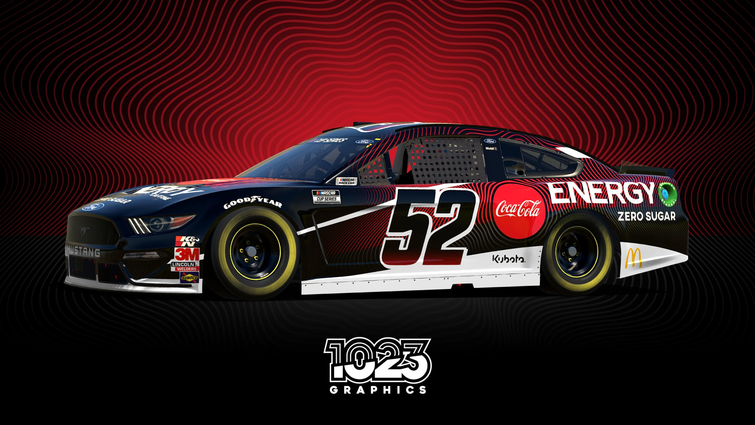 Preview of CocaCola Energy Mustang by Justin T Wilkinson