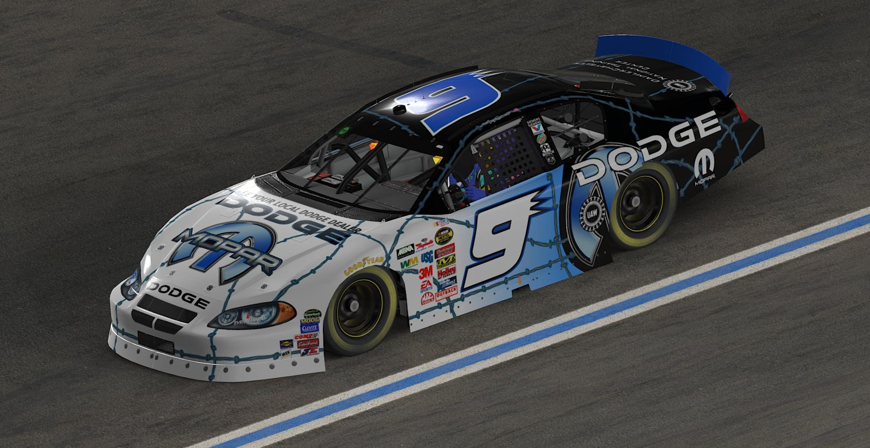 Preview of Kasey Kahne Mopar 2004 without the big 9s by Jordan Werth