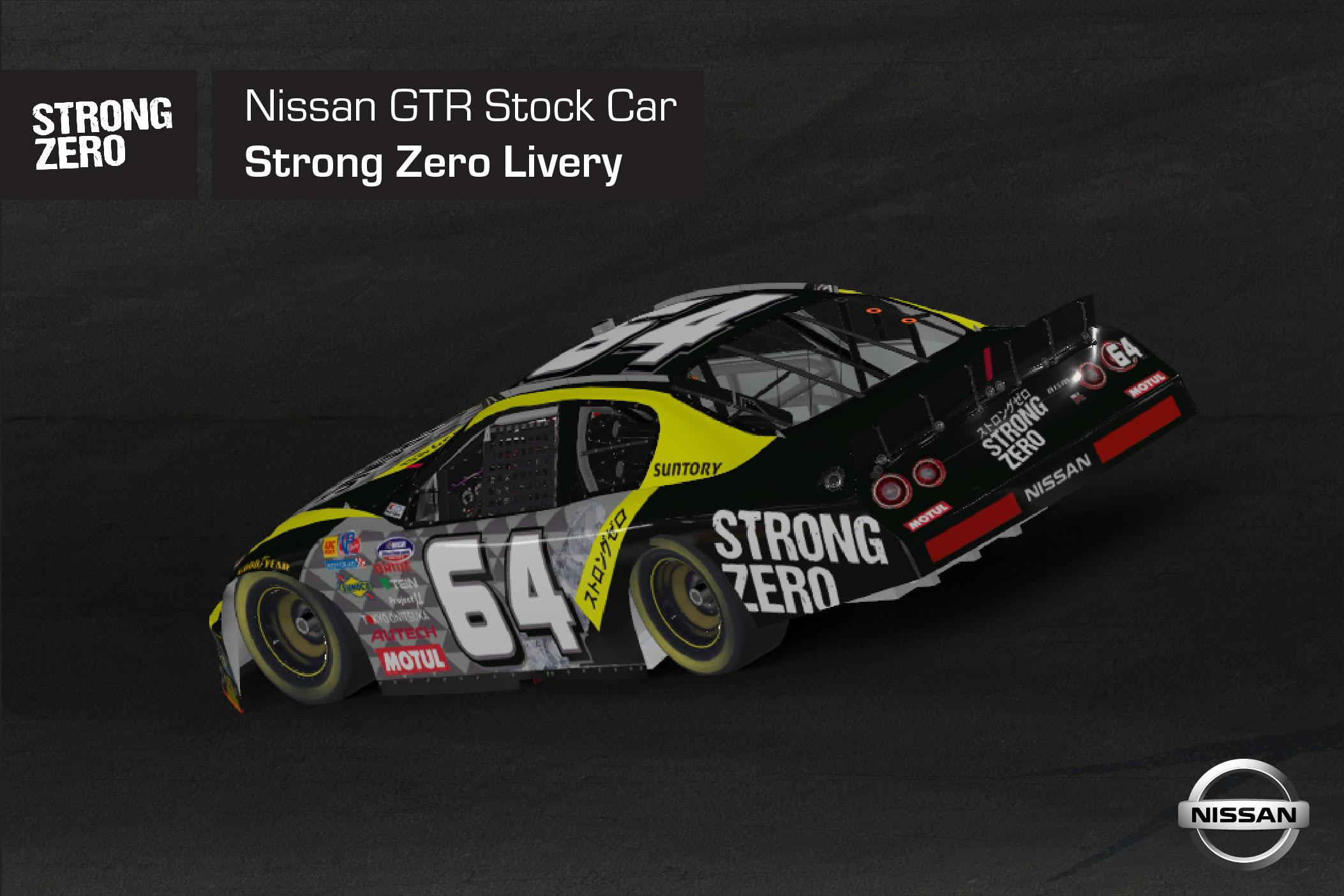Preview of Nissan GTR Stock Car Strong Zero by Arthur T.
