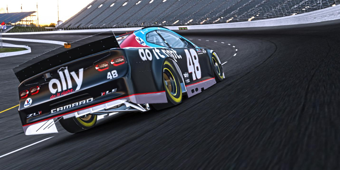 Preview of Jimmie Johnson 7x Throwback (No Number) by Noah Sweet