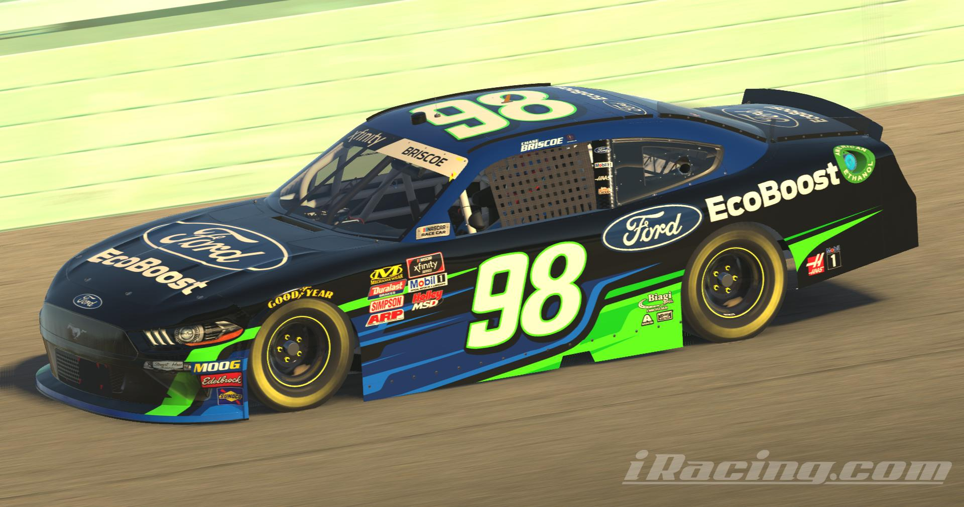 Preview of Chase Briscoe 2019 Ford EcoBoost Concept (Numbered) by Roberto Ramirez