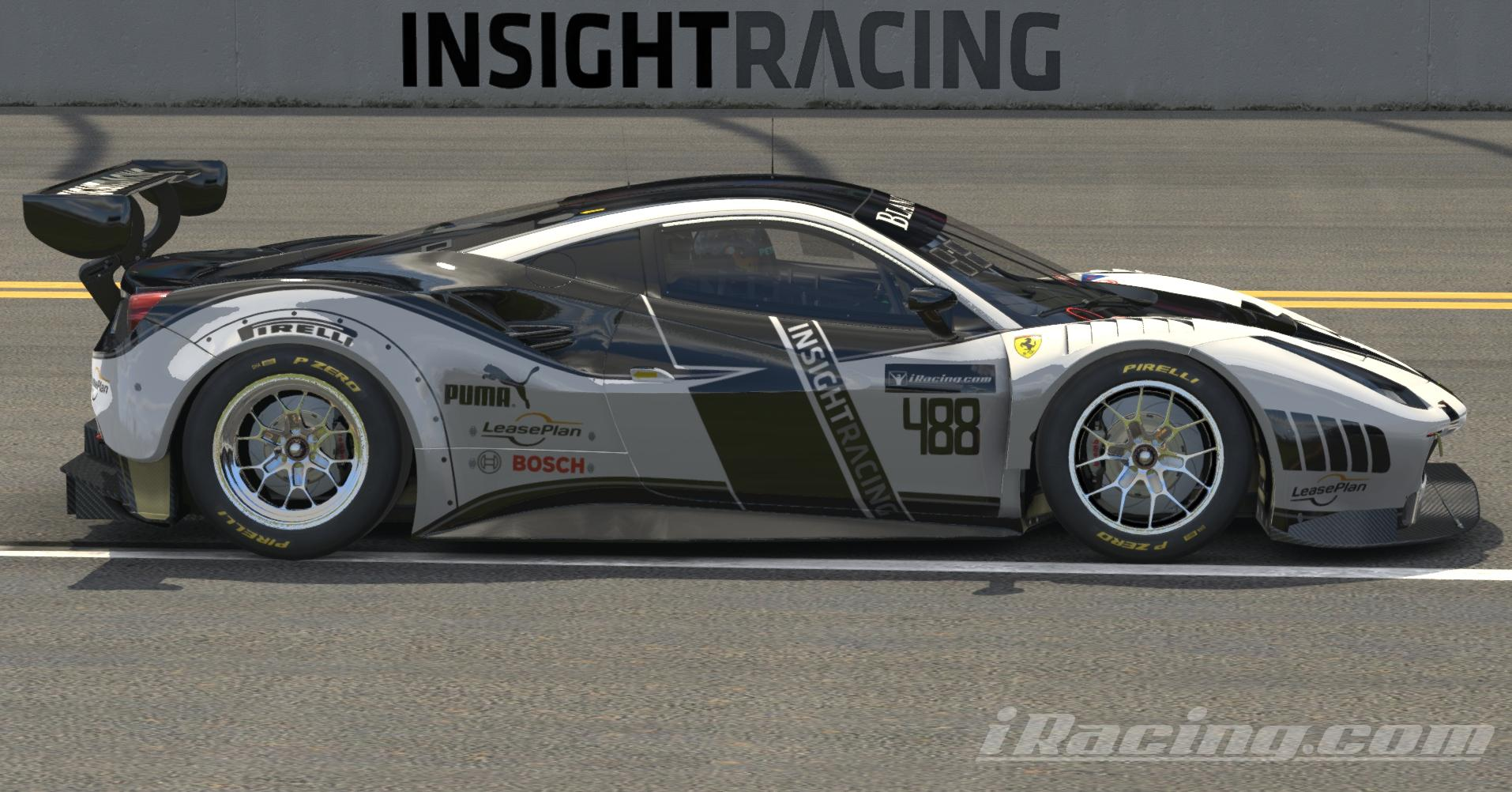 Preview of Ferrari 488 GT3 Insight by Don Craig