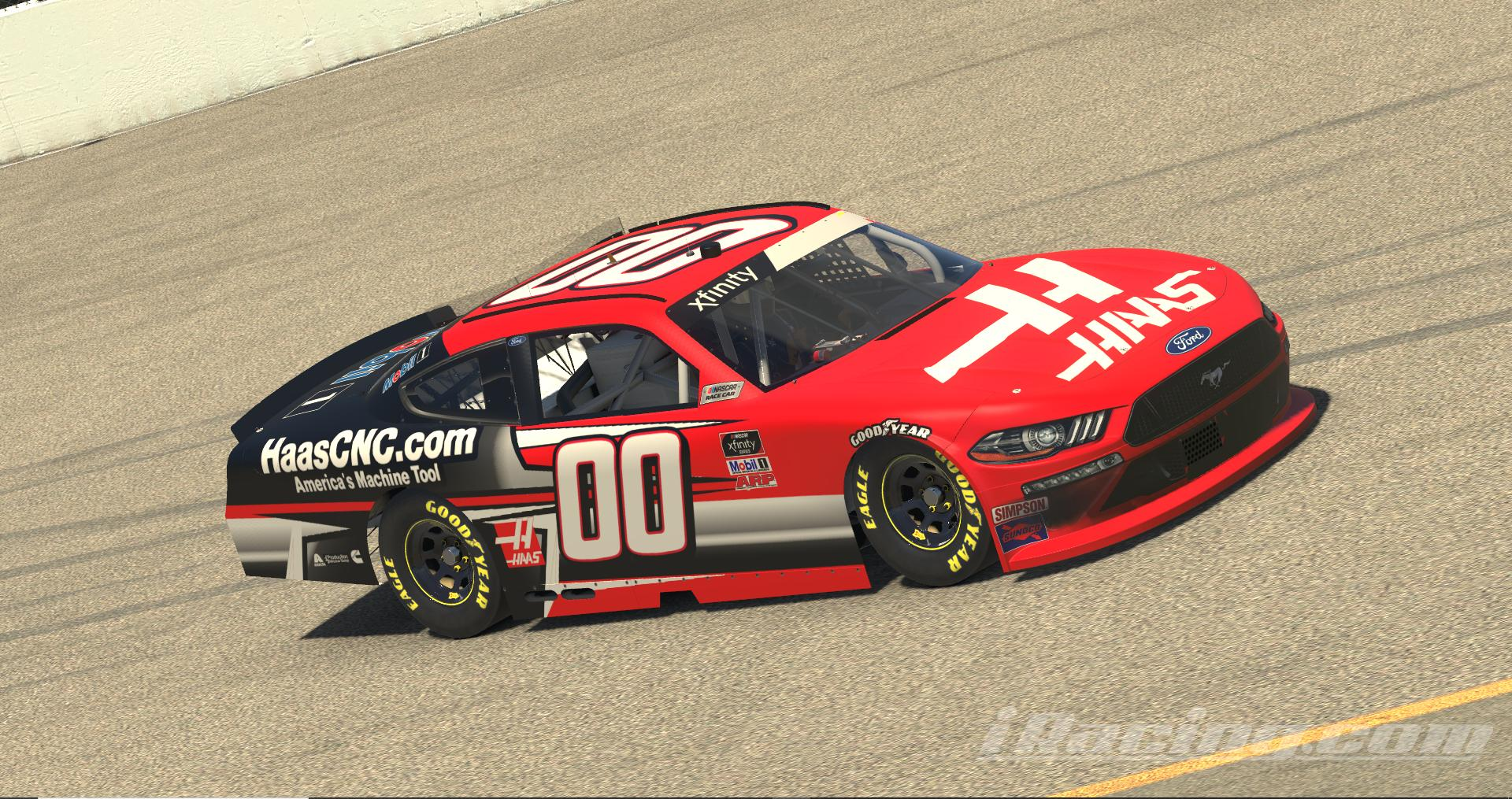 Preview of 2021 Stewart HAAS Xfinity/Kyle Larson Fictional CUSTOM # by Tanner Tallarico