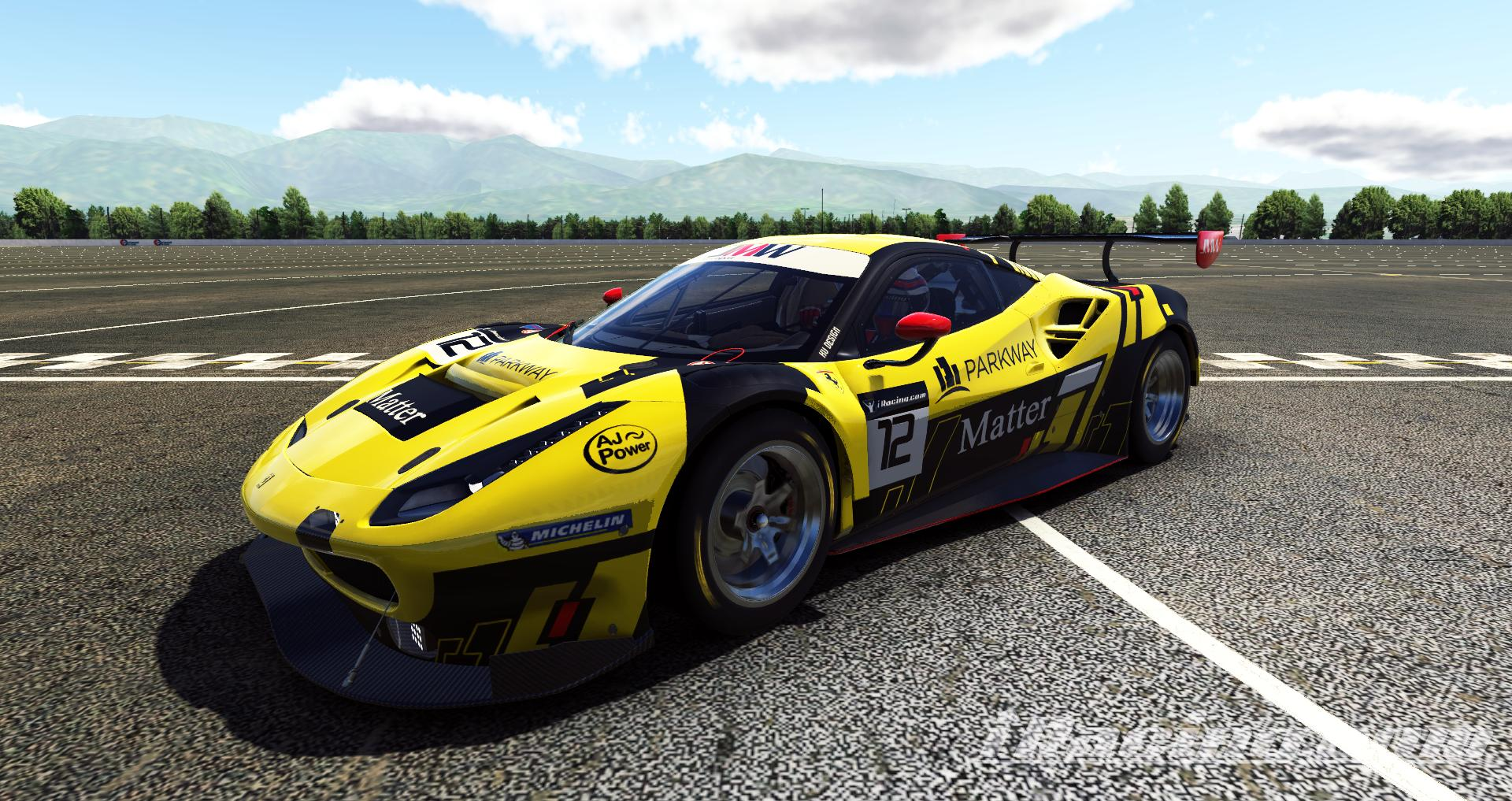 Preview of Ferrari 488 GT3 by James R.