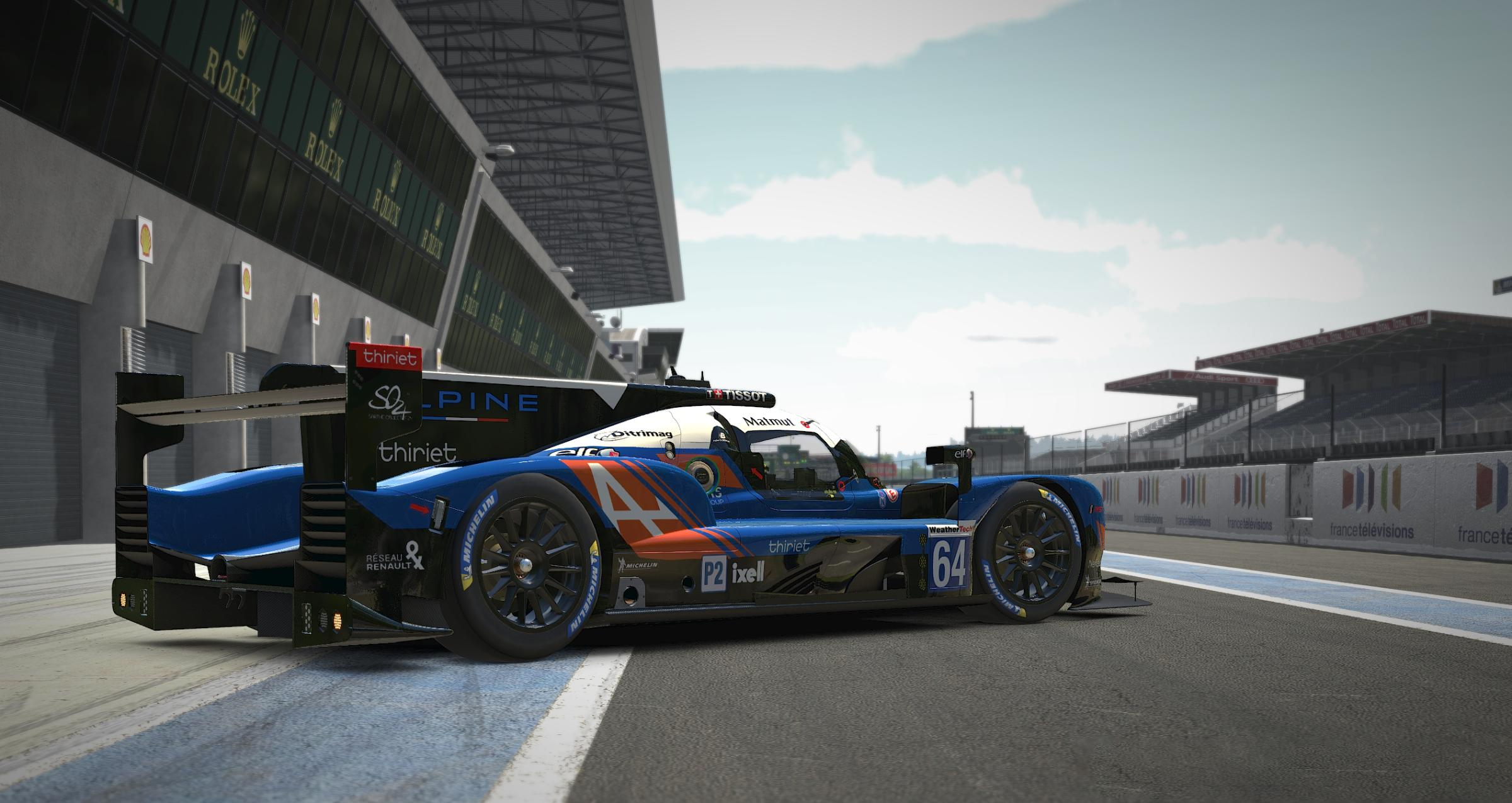 Preview of Signatech Alpine LMP2 by Jérôme Bajulaz