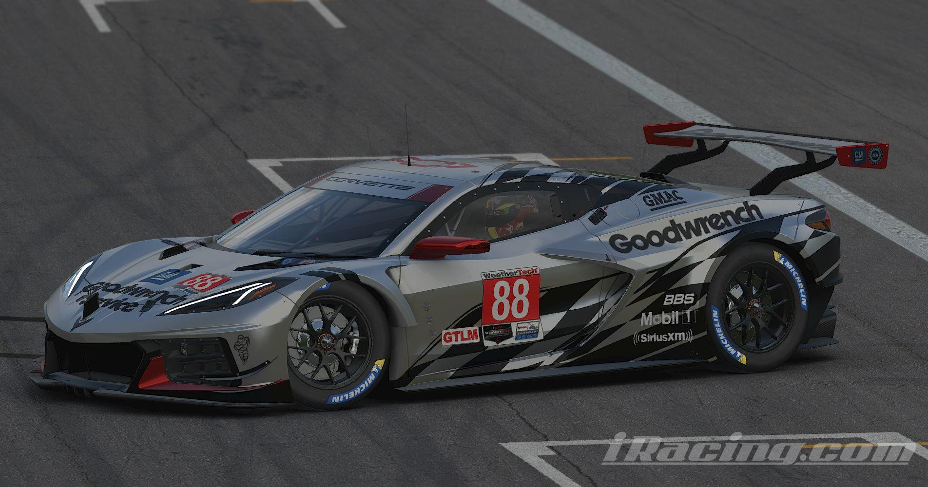 Preview of Corvette C8R Goodwrench Service Plus **UPDATED** by Stephane Parent