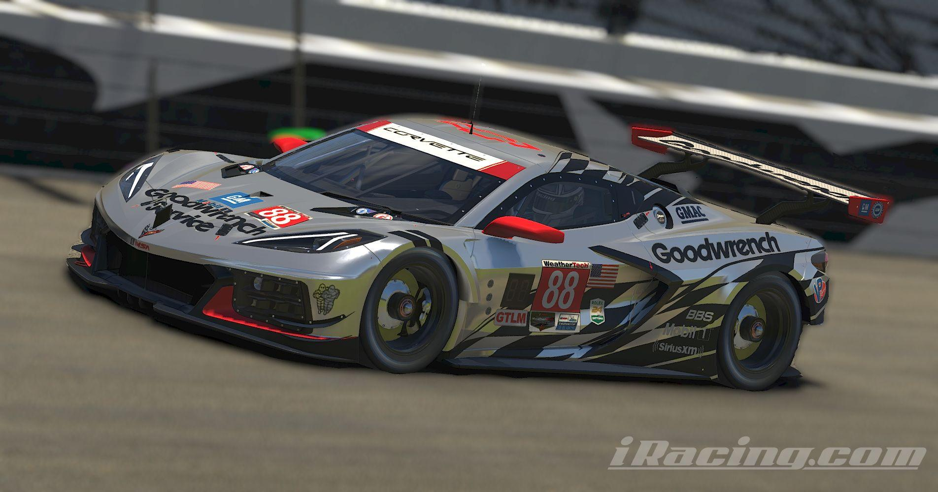 Preview of Corvette C8R Goodwrench Service Plus by Stephane Parent