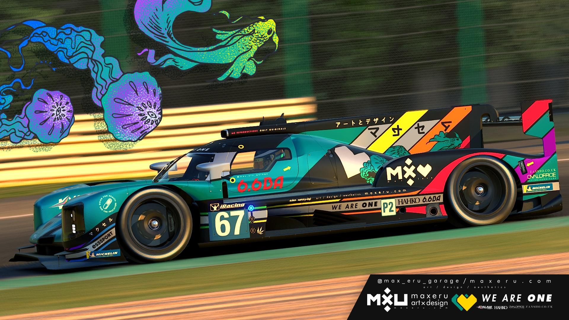 Preview of MXU Emerald - Dallara P217 LMP2 by Bryce L.