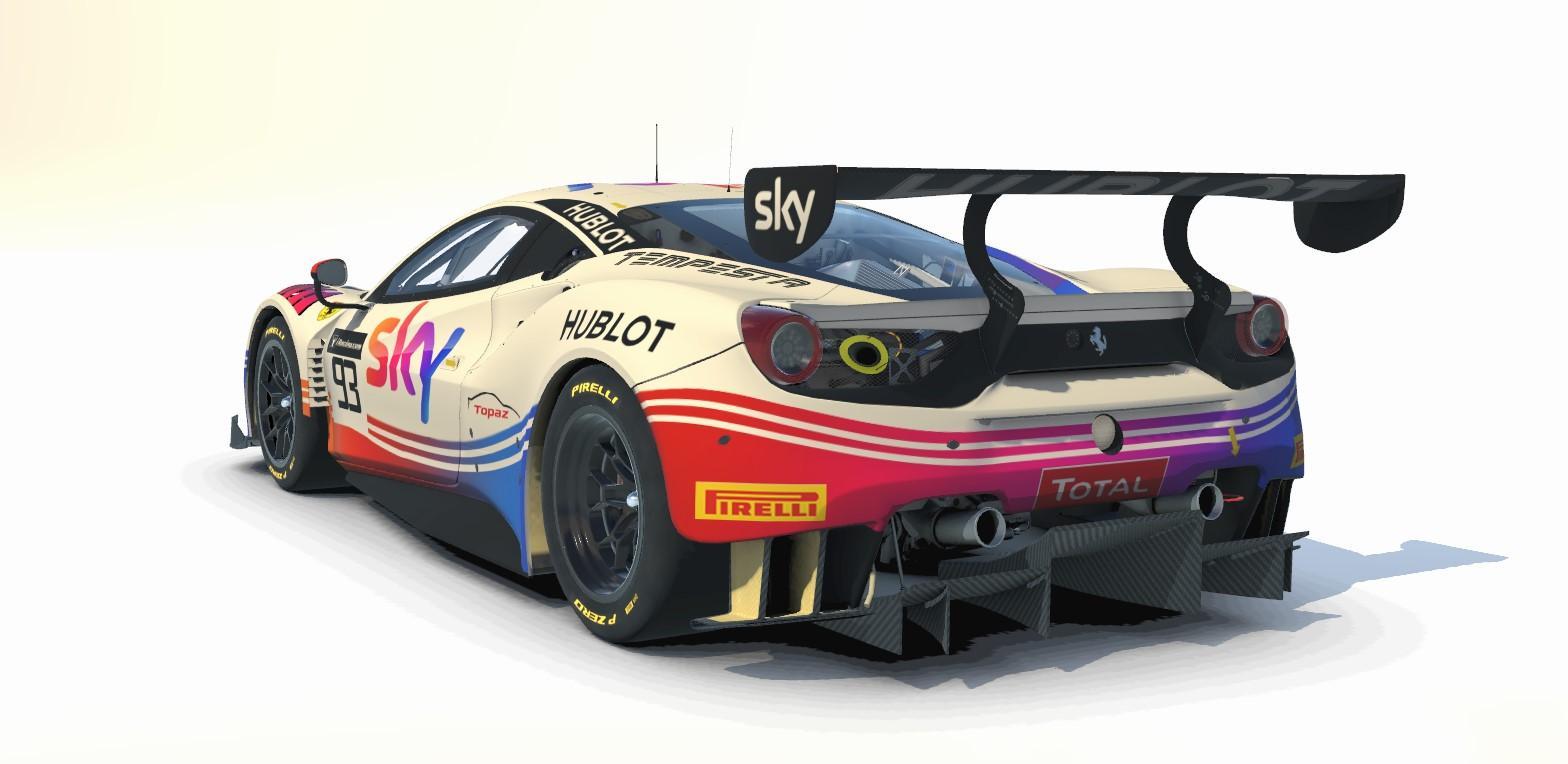 Preview of 2020 Tempesta Sky Ferrari 488 GT3 by Stephen Phillips3