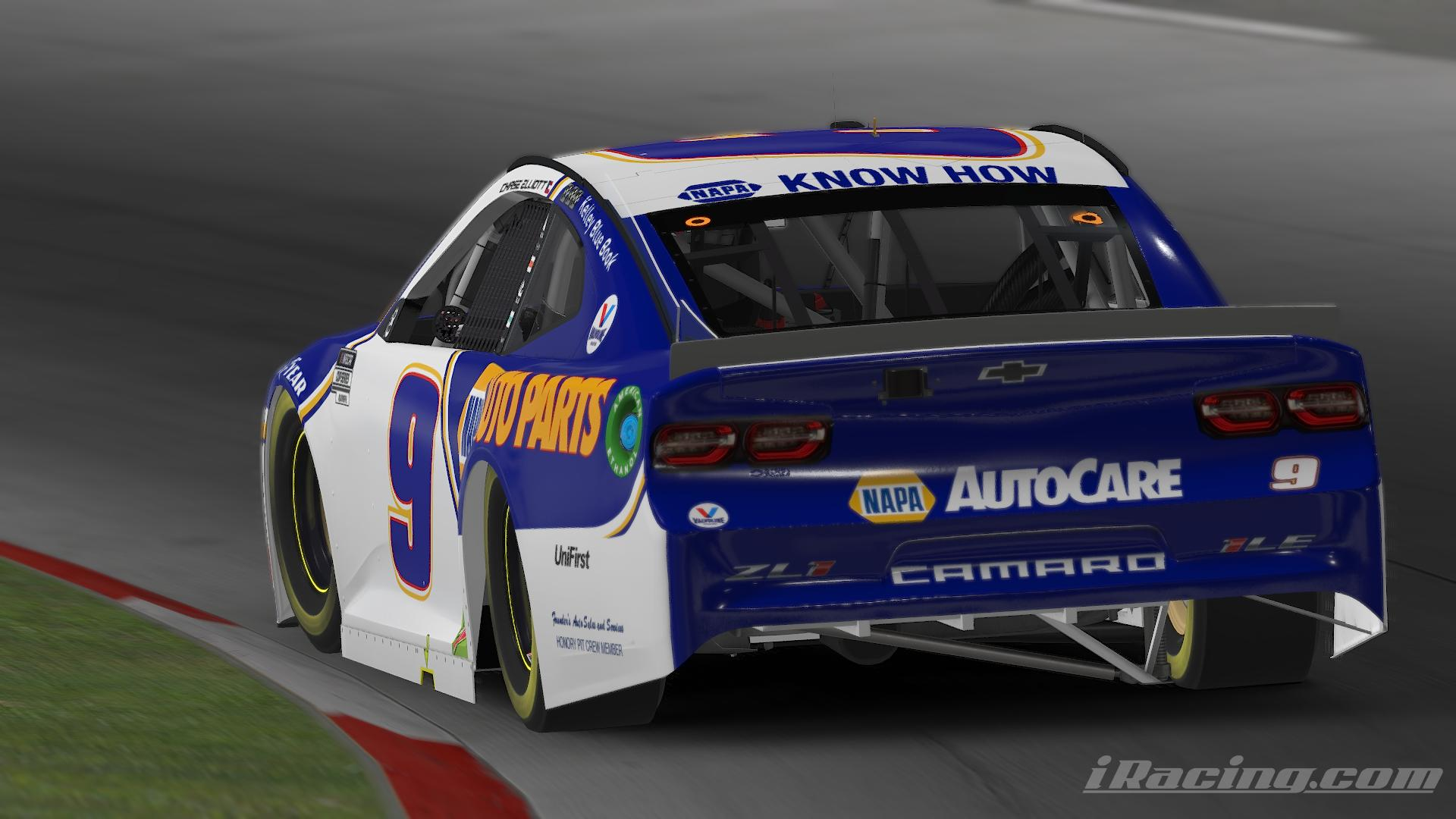 Preview of Chase Elliott Martinsville 2020 No Number by Alexander L Russell