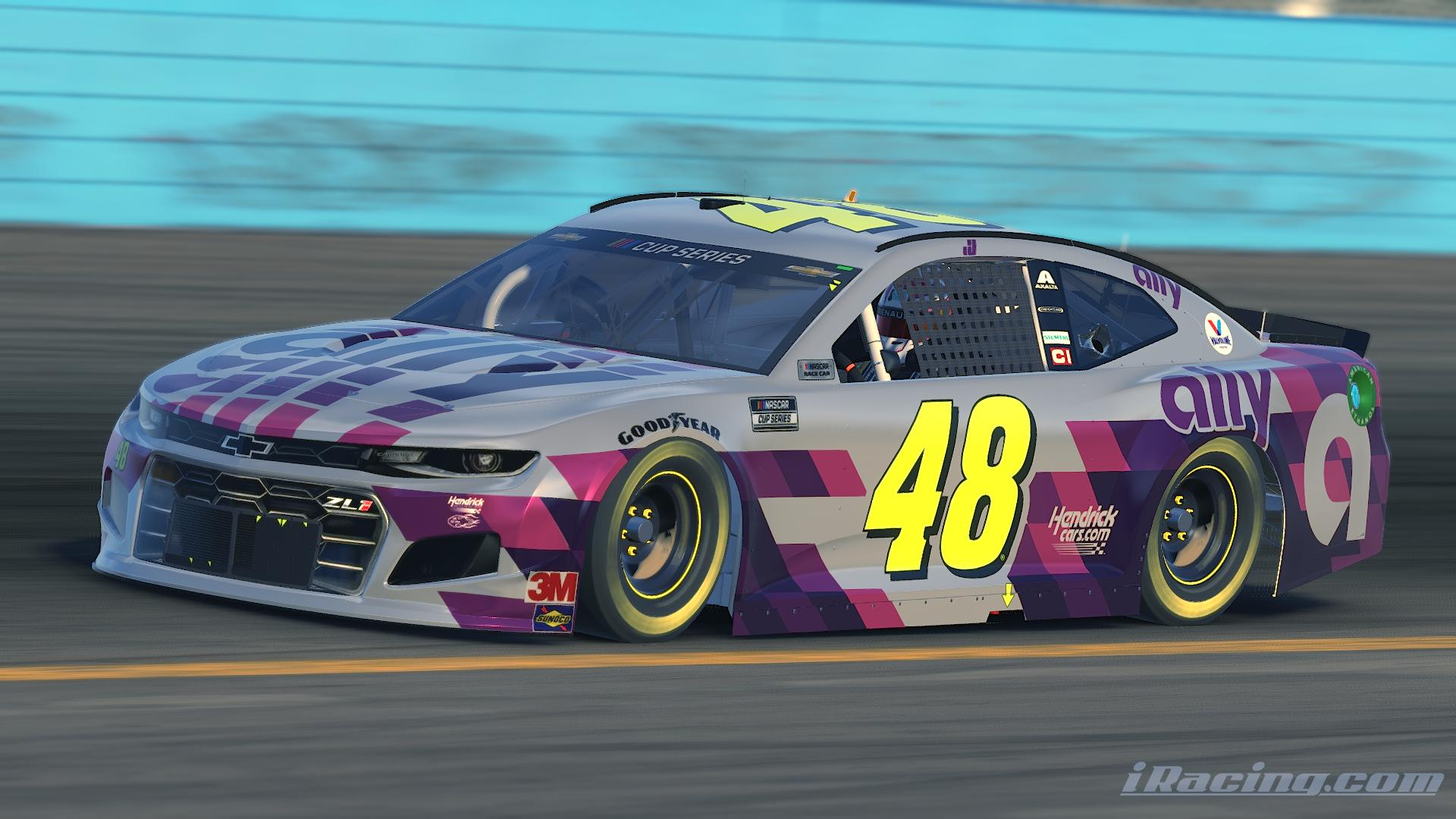 Preview of Jimmie Johnson Last Ride 2020 No Number by Alexander L Russell