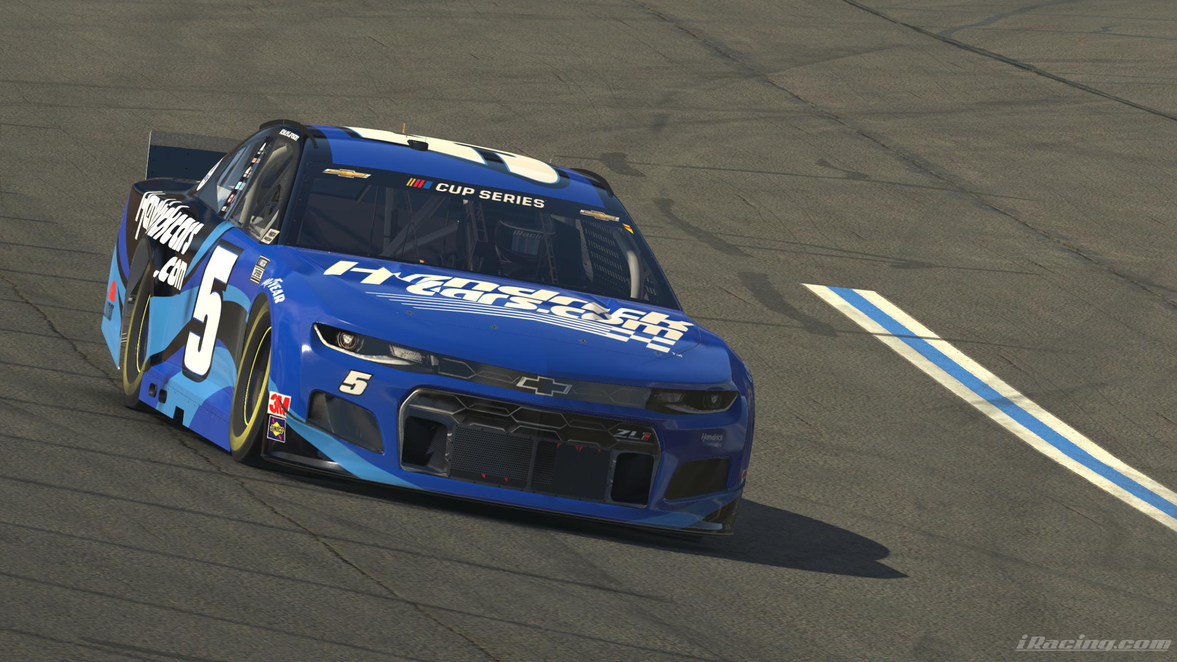 Preview of 2021 Fictional Kyle Larson HendrickCars.com (No Number) by Ryan Pistana