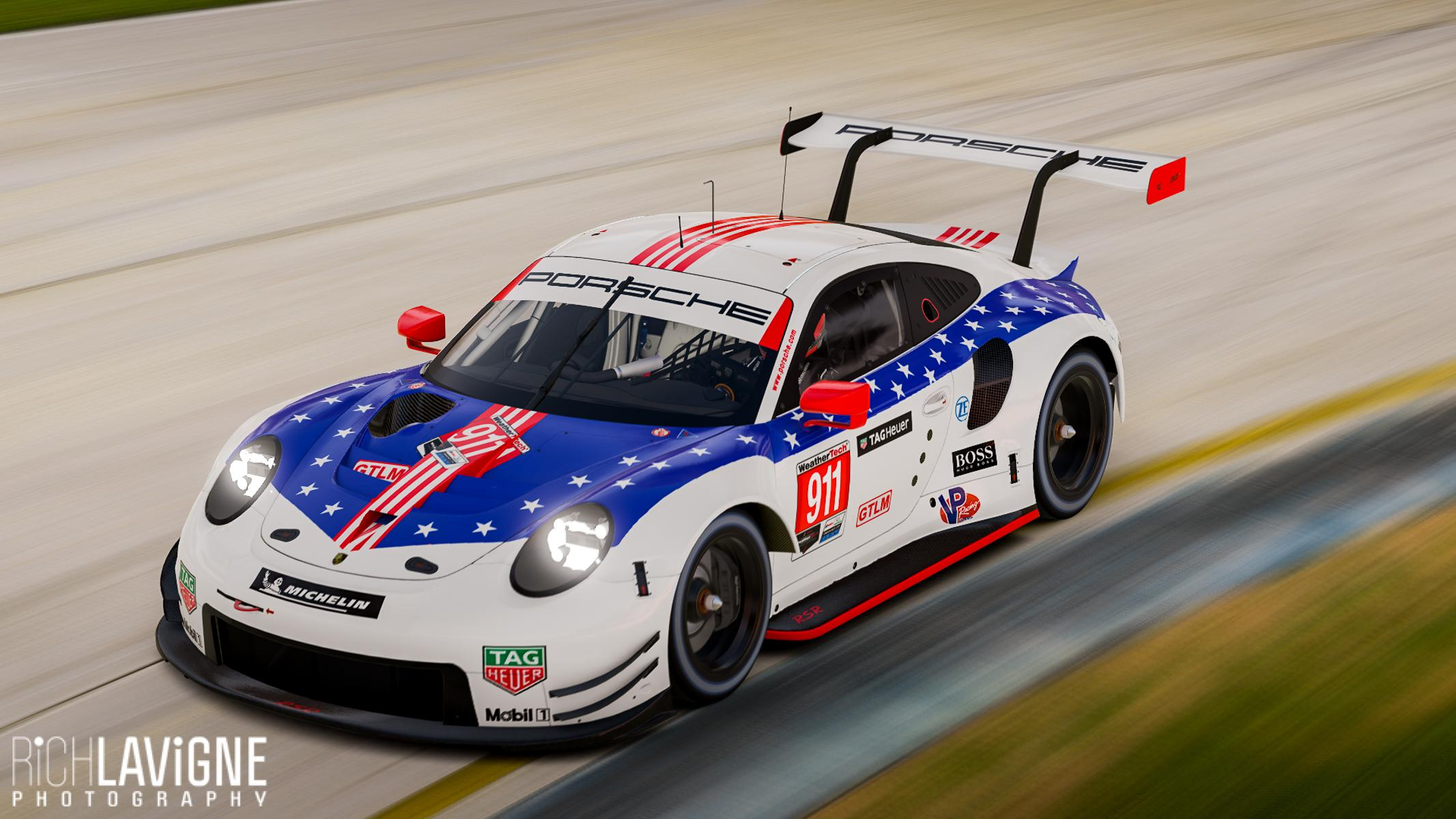 Preview of Porsche Thank You 911 RSR by Richard Lavigne