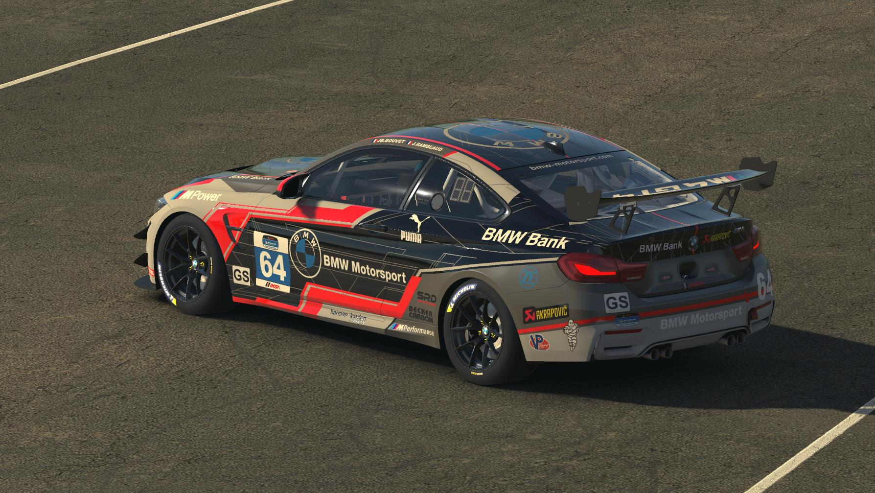 Preview of BMW M4 GT4 BMW Motorsport by Julien R.