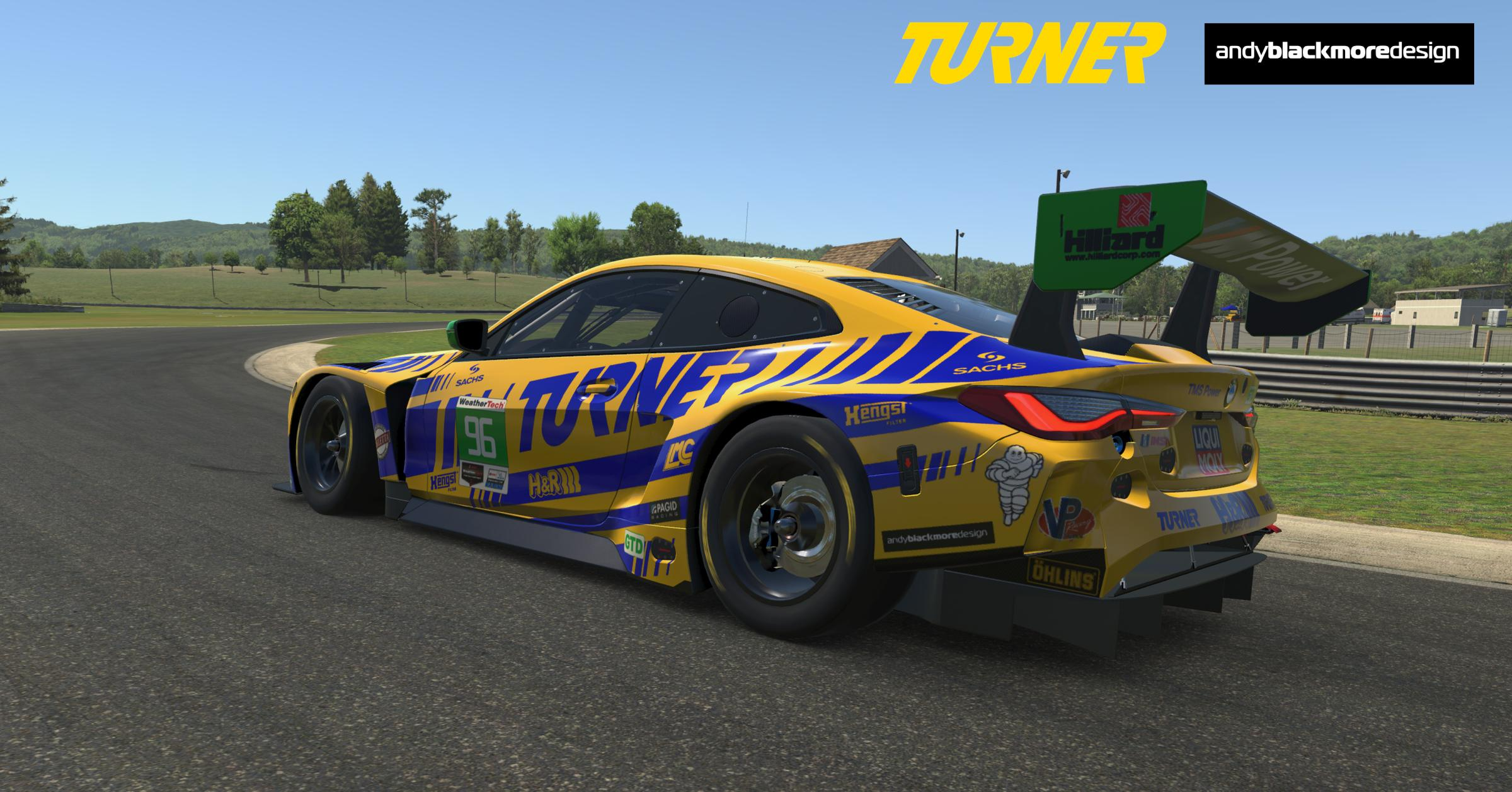 Preview of BMW M4 GT3 (Proto) - 2020 TURNER SEBRING 12HR LIVERY by Andrew Blackmore