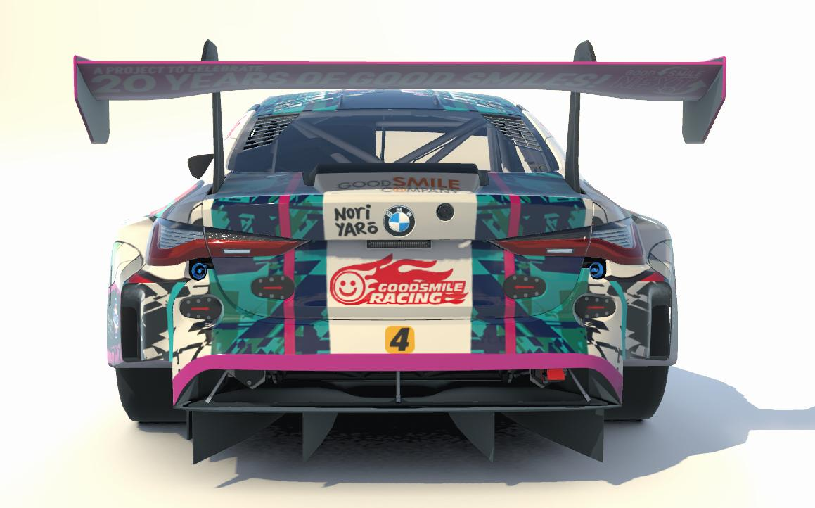 Preview of Goodsmile Racing 2020 BMW M4 GT3 [Hatsune Miku GT Project] by Steve Tilbury