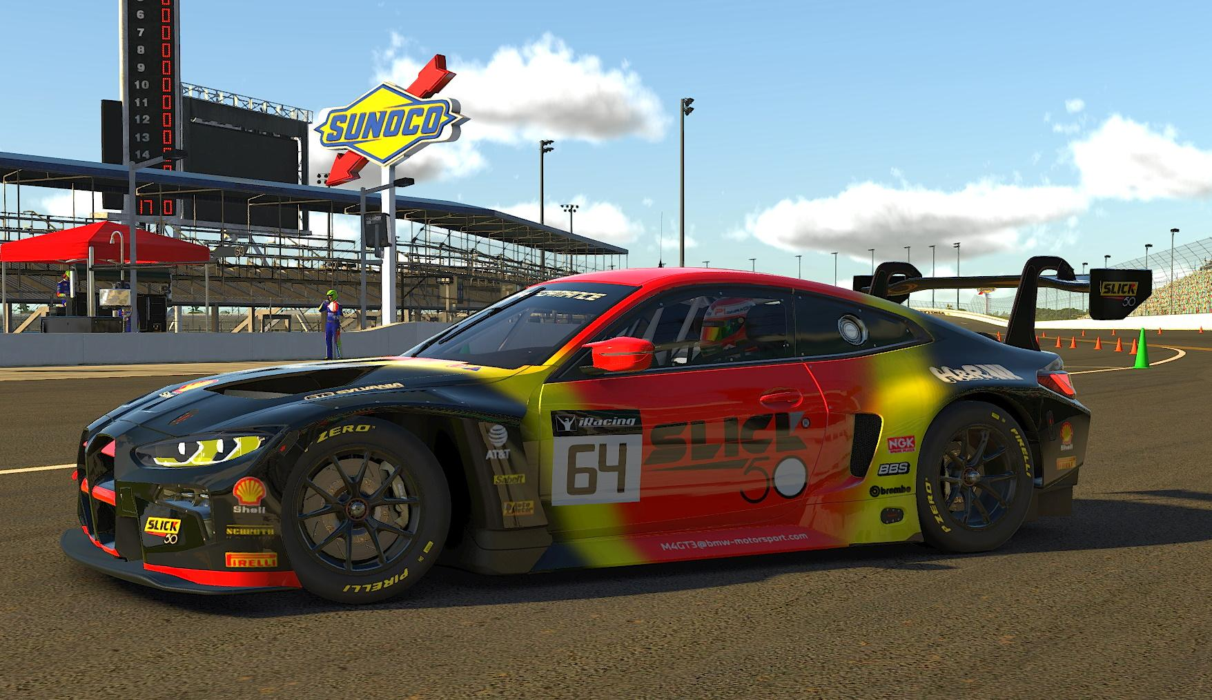 Preview of Slick 50 BMW M4 GT3 by John Paquin