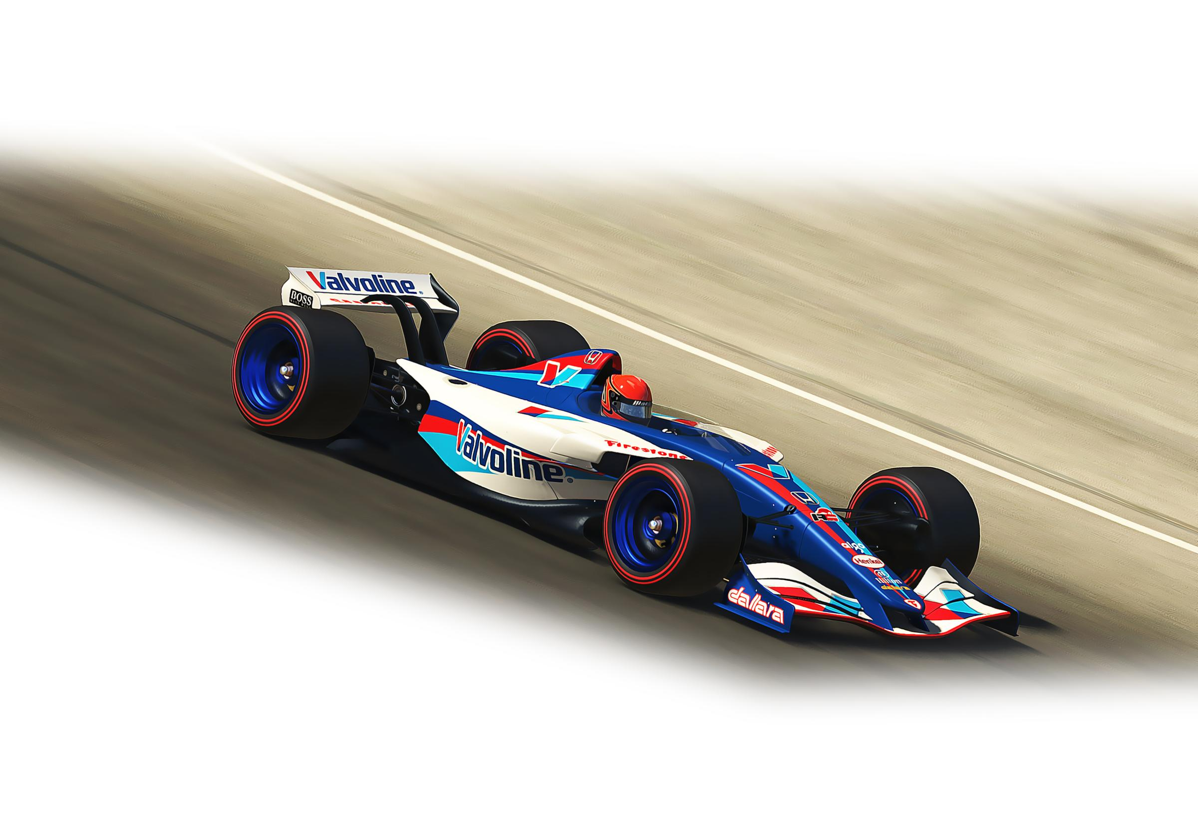 Preview of Valvoline Dallara IR01 v3E 2020 by Doyle Lowrance