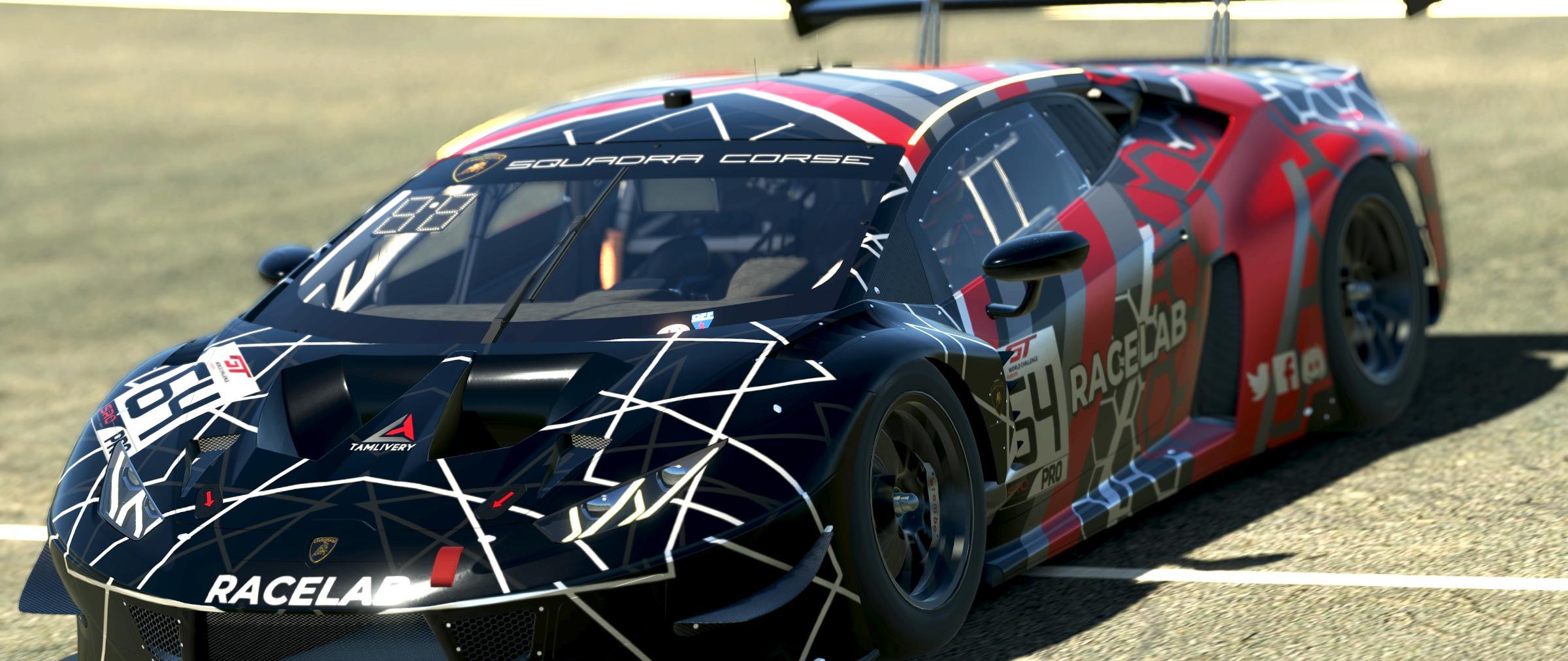 Preview of Lamborghini Huracán EVO GT3 Racelab Livery by Krisztián Kónya