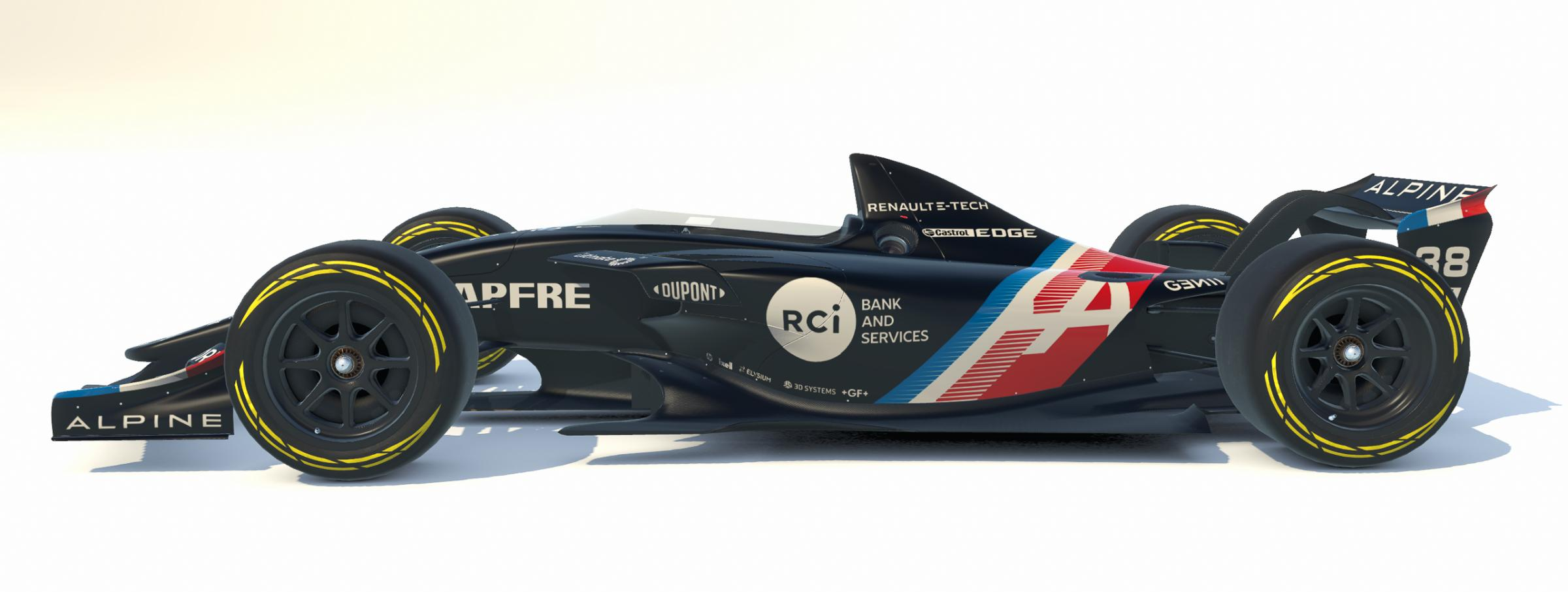 Preview of Alpine A521 Launch Livery by Matthew D.
