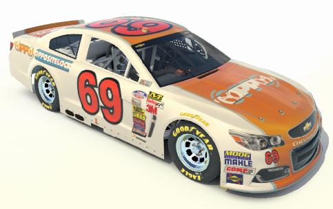 Preview of Oppositelock NASCAR Livery Phase I by Brent P.