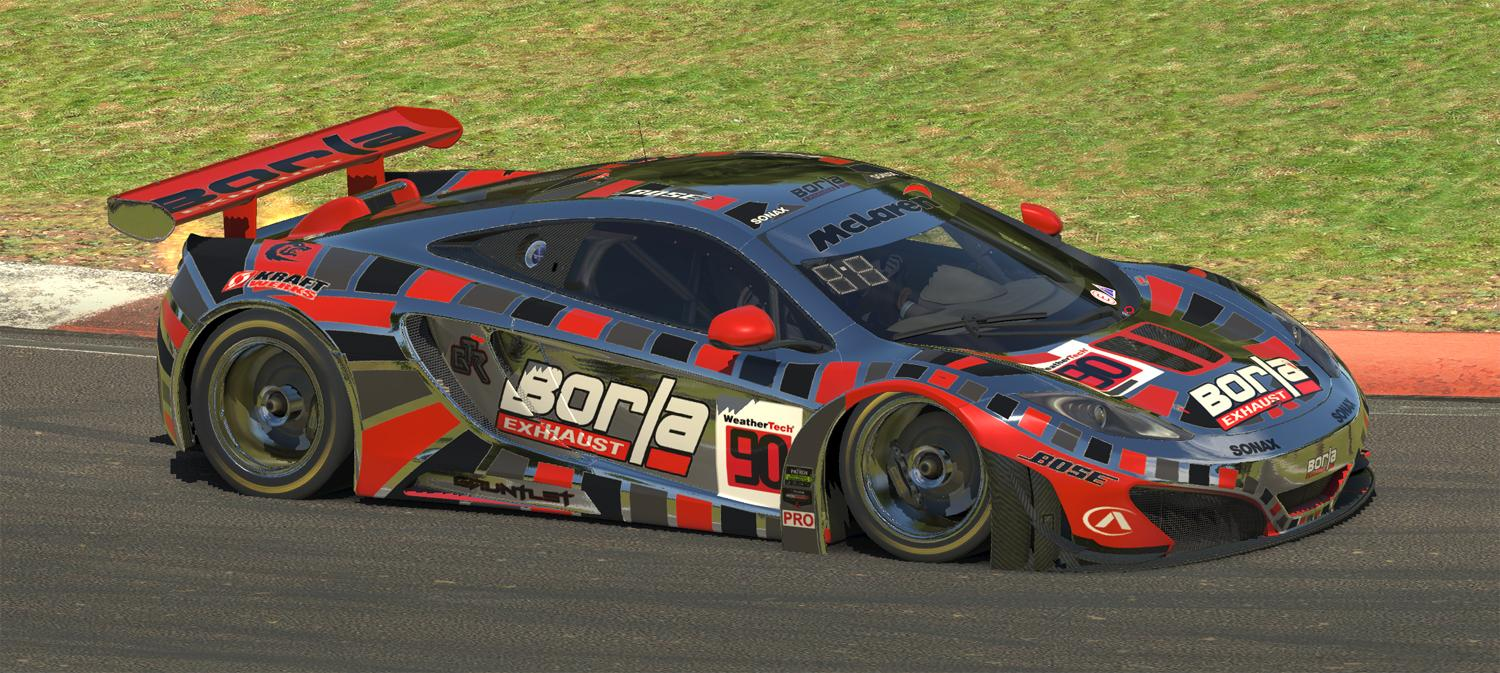 Preview of Borla McLaren MP4-12C GT3 (Chrome) by Warren McGary