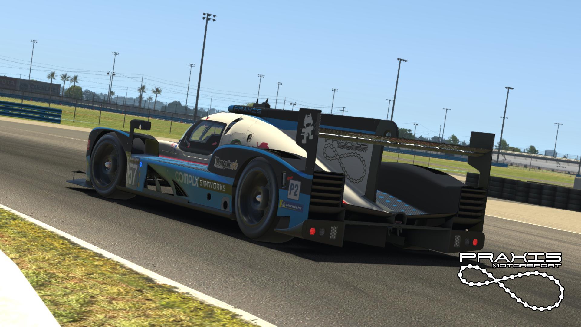 Praxis Motorsport Daytona 24 2021 - Blue Variant by ...