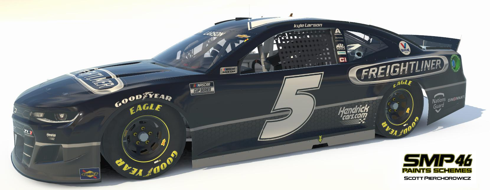 Preview of FreightLiner (Kyle Larson) 2021 by Scott Pierchorowicz