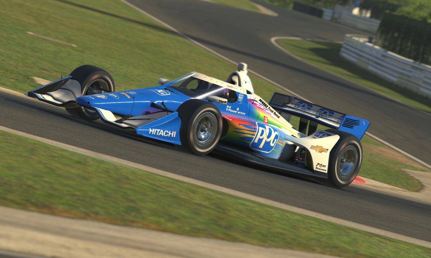 Preview of 2021 Scott McLaughlin PPG Indycar by Tyler Tucker