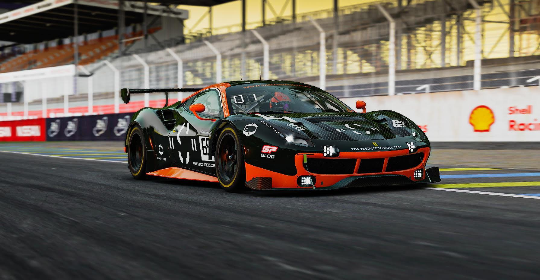 Preview of Simcontrols.eu Ferrari 488 GT3  by David Plasman