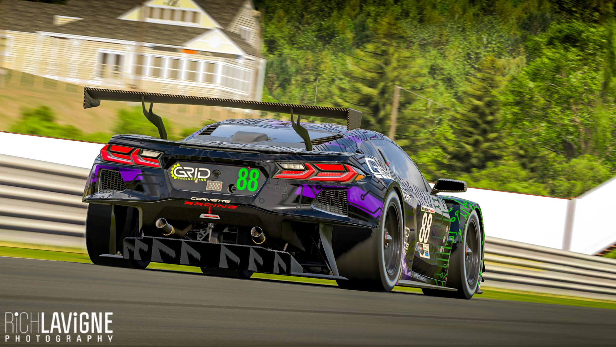 Preview of Genesis SimSport C8R GTE by Richard Lavigne