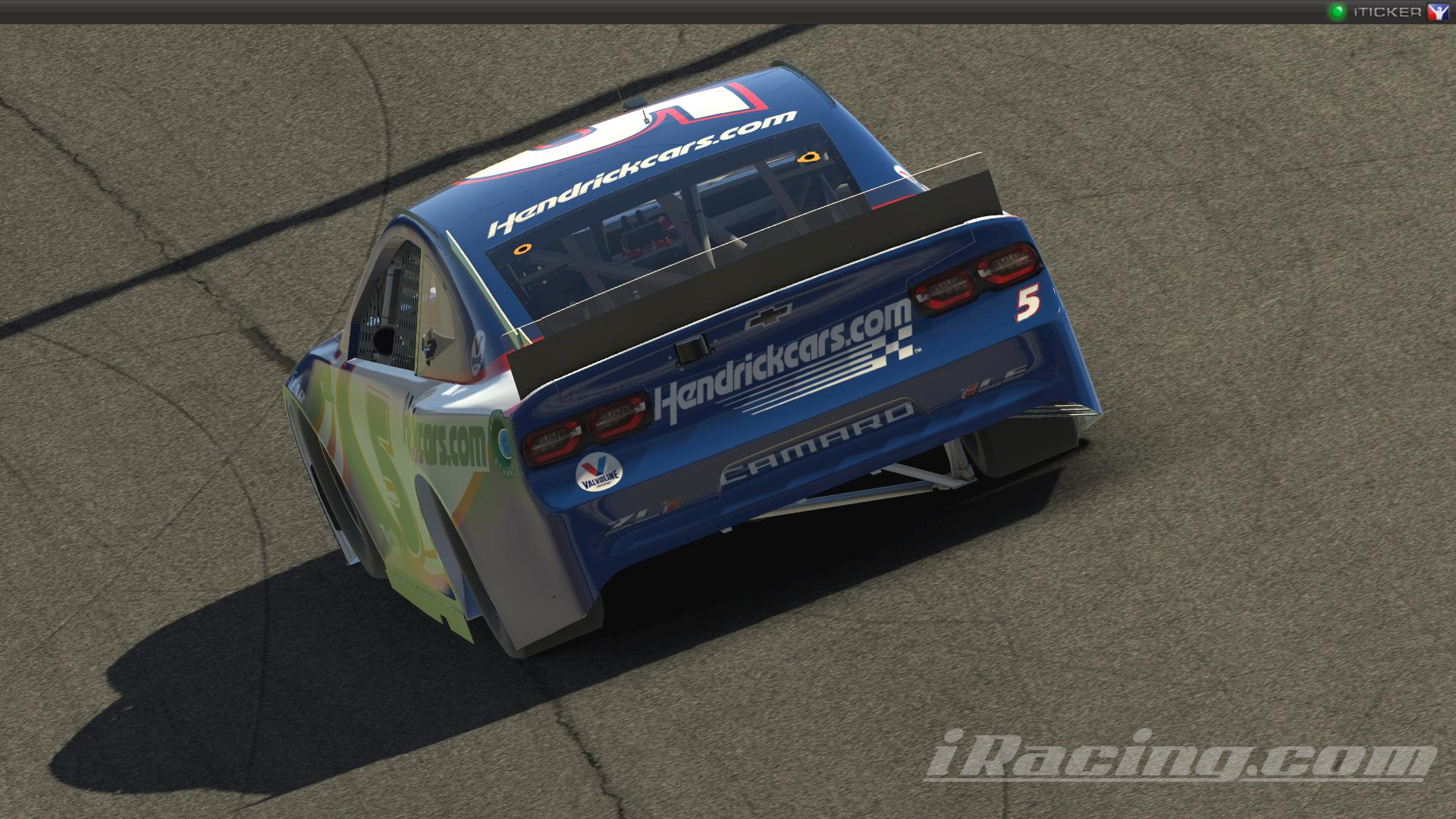 Preview of Kyle Larson #5 Hendrickcars.com 2021 NASCAR Cup Series by Ryan Broderick