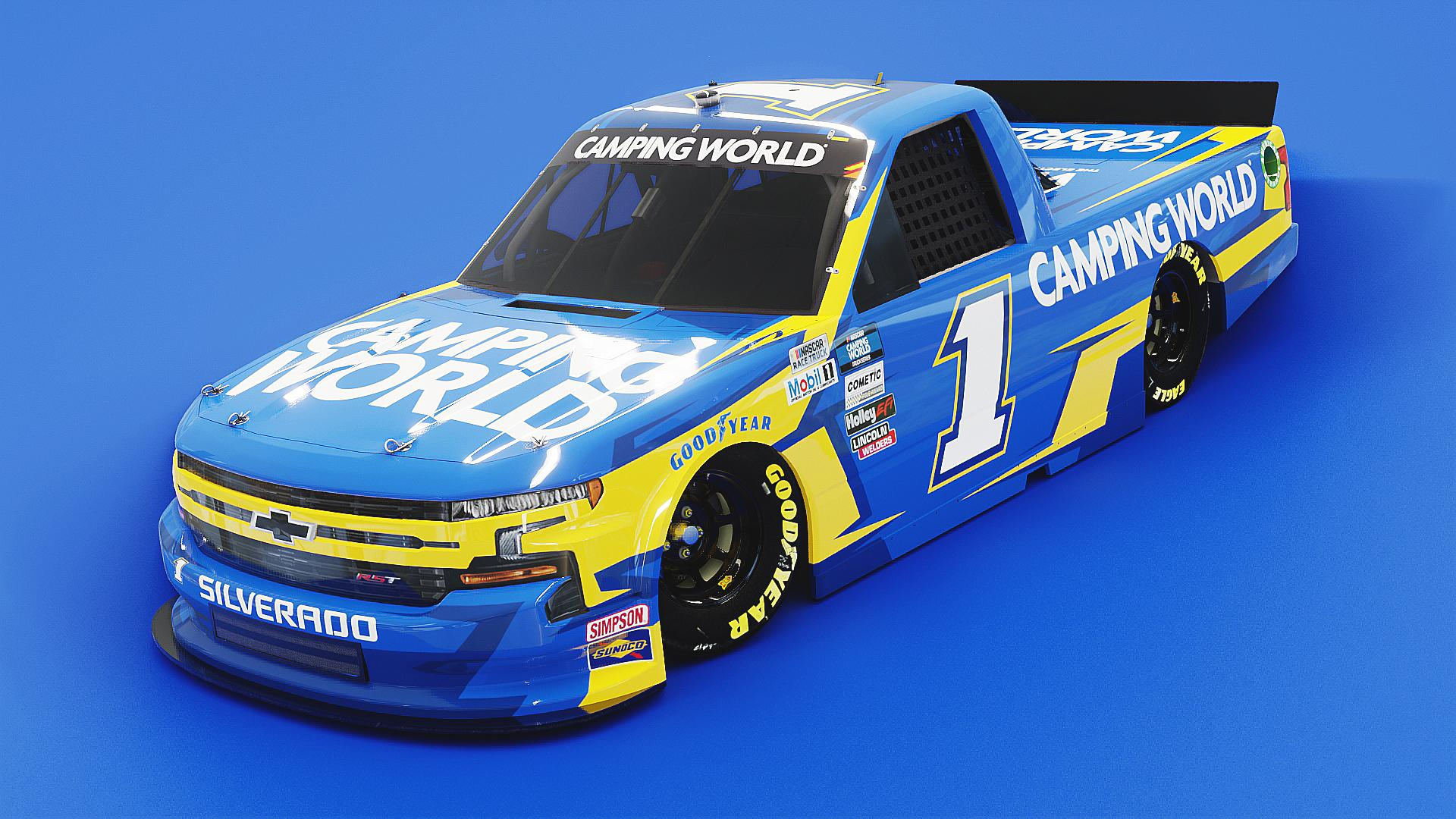 Preview of Camping World Chevrolet Silverado by Noah Sweet