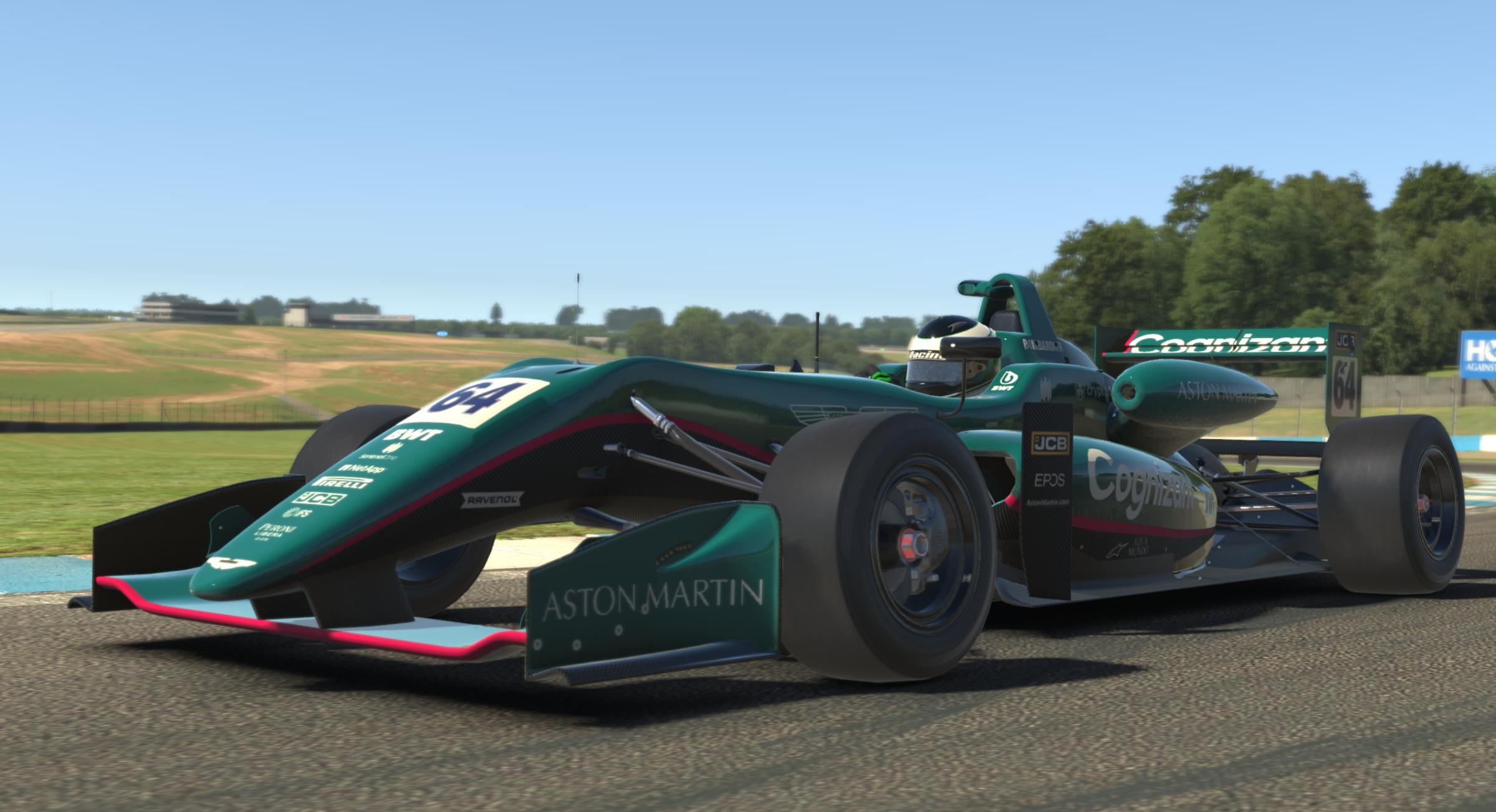 Preview of Aston Martin Cognizant F1 2021 by Thomas S.