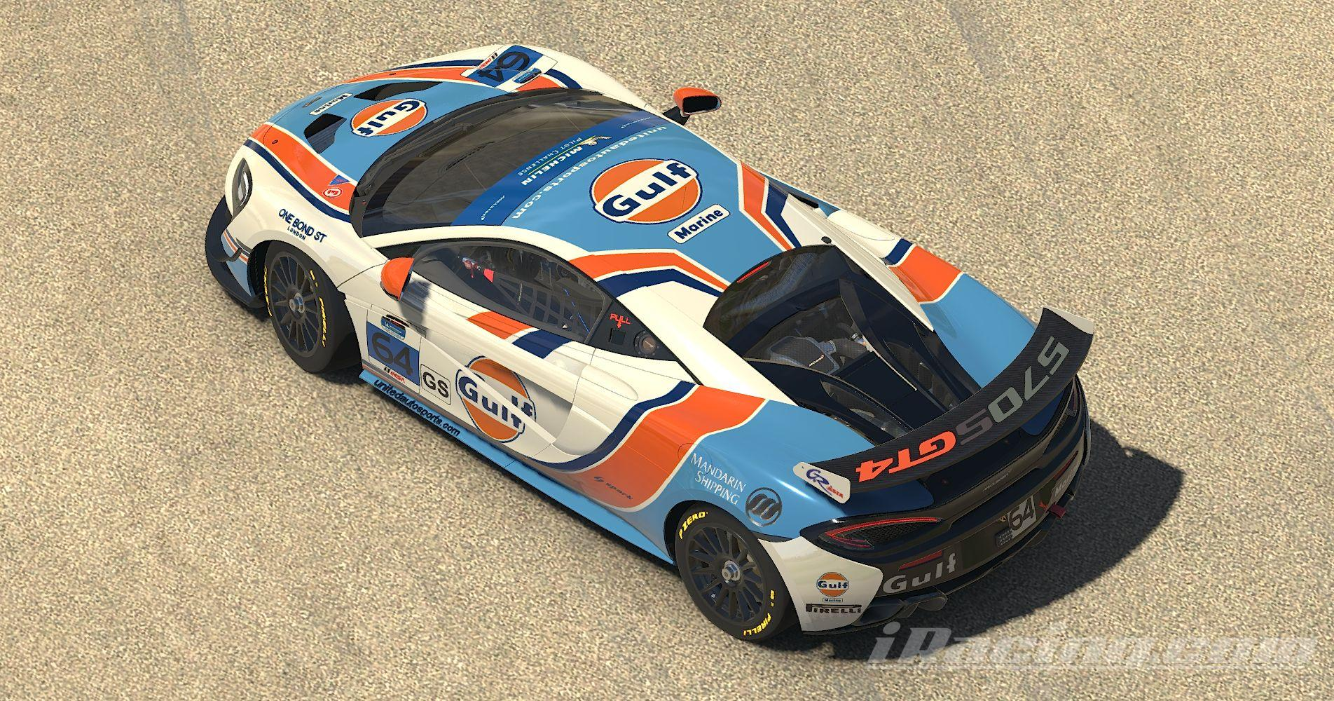 Preview of McLaren 570s GT4 Gulf Marine by Stephane Parent