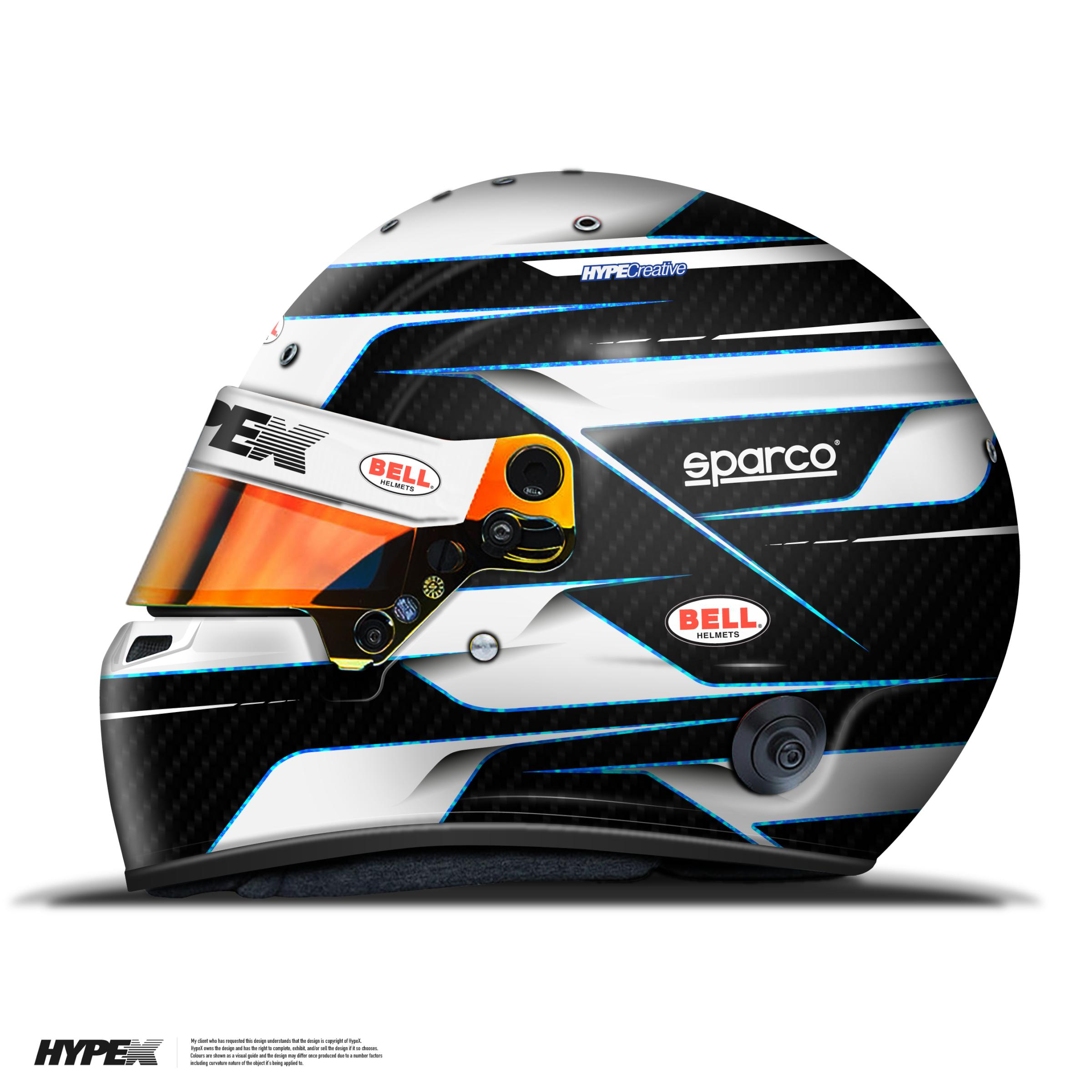 Preview of HypeX Racewear / Black & Blue by Keith Wood4