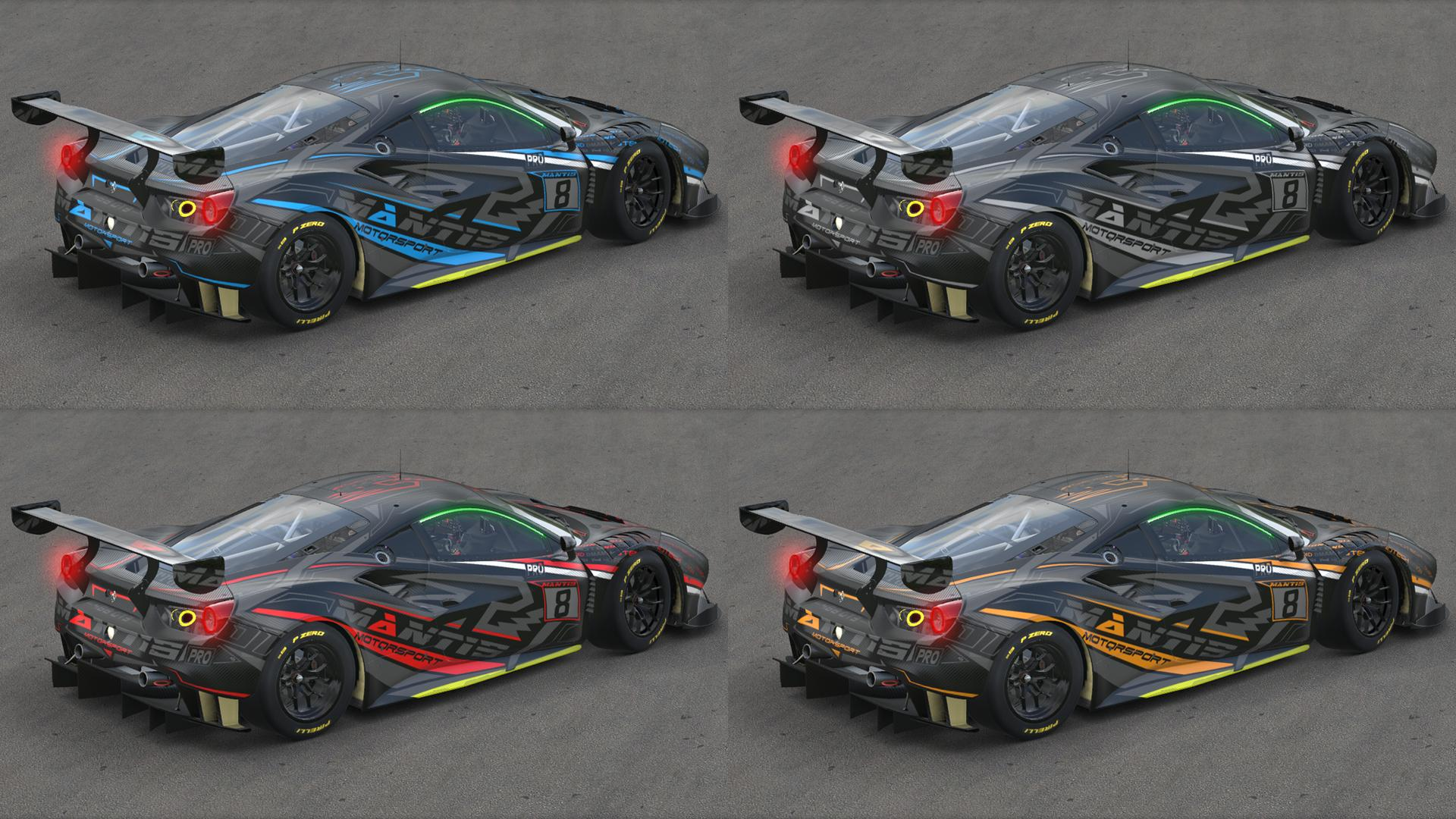Preview of Ferrari 488 GT3 PSYCHO CARBON by Kirk S.