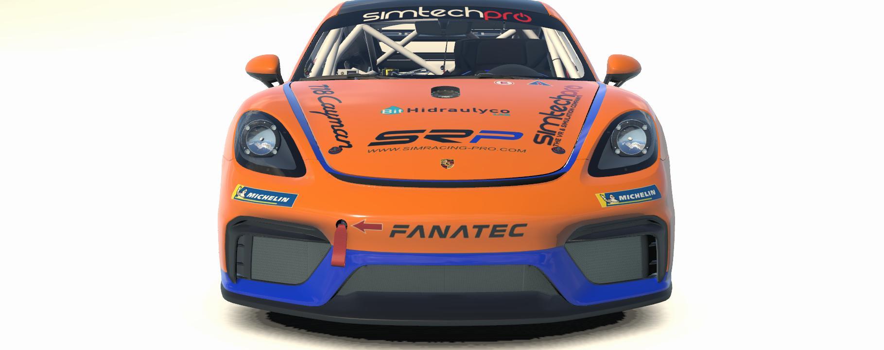 Preview of Porsche 718 GT4 by Agustin Santana
