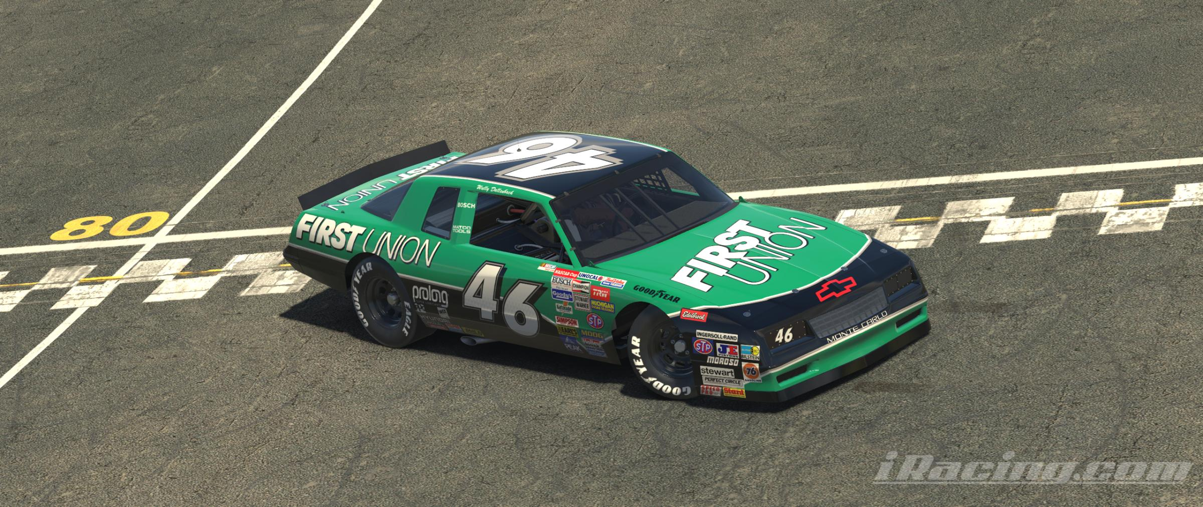 Preview of Wally Dallenbach 1998 First Union Monte Carlo (No Number) by Evan Pienta