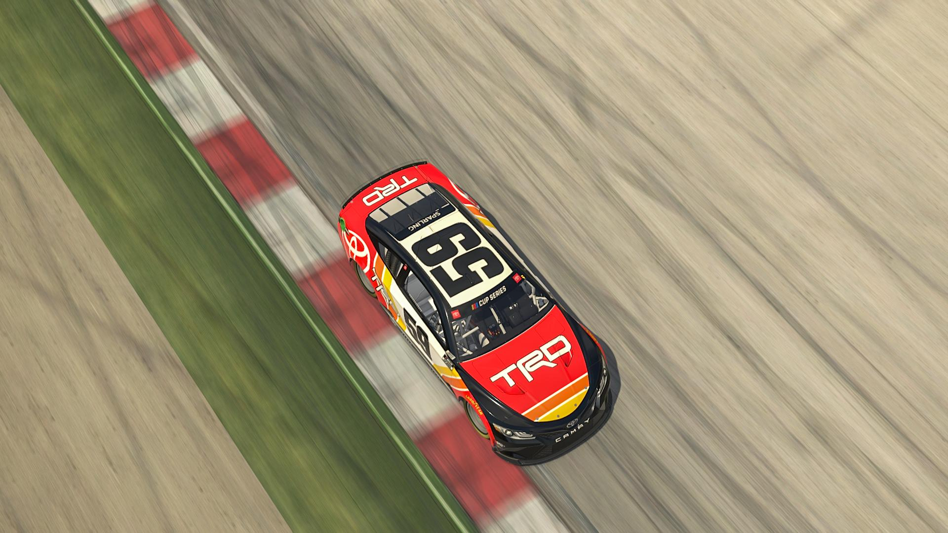 Preview of TRD Toyota Camry Sim Stamp/No Number by Blaine Sparling