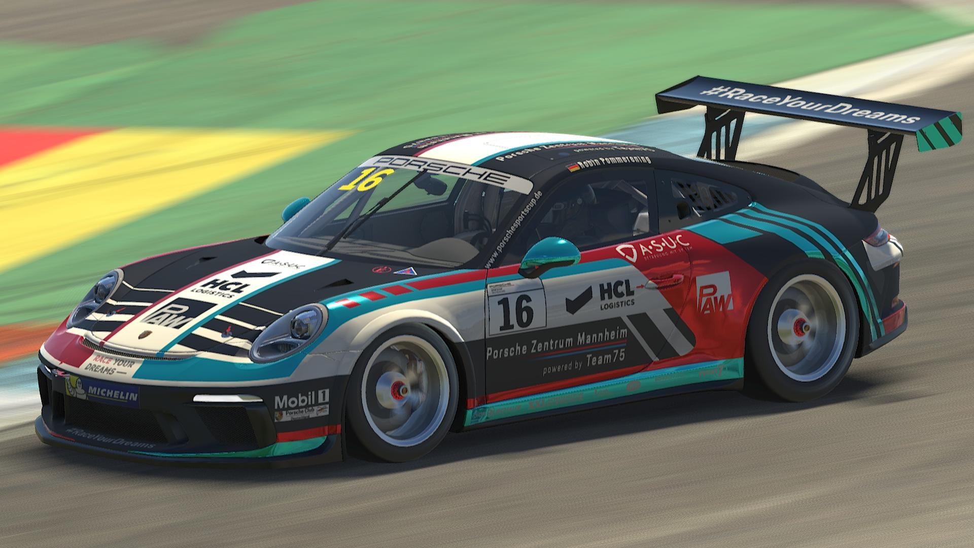 Preview of Porsche Sports Cup Germany 2021- PZ Mannheim - #16 Robin Pommerening by Stefan Kresin