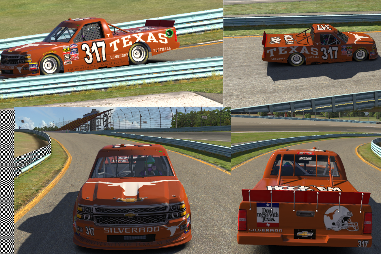 Texas Longhorns Chevy Silverado 2015 By Allen M Trading Paints
