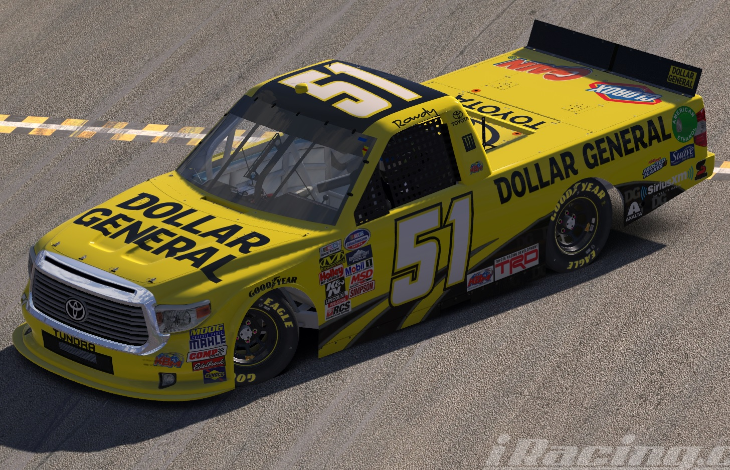 51 Dollar General Toyota Kyle Busch By Marcel Humme