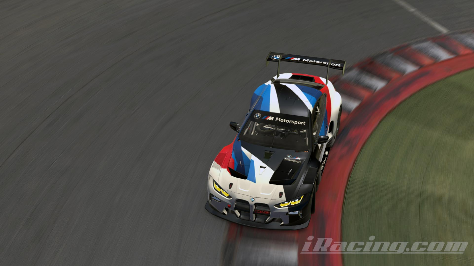 Preview of BMW M4 GT3 Release Livery white number by Ewold Van der Maeren