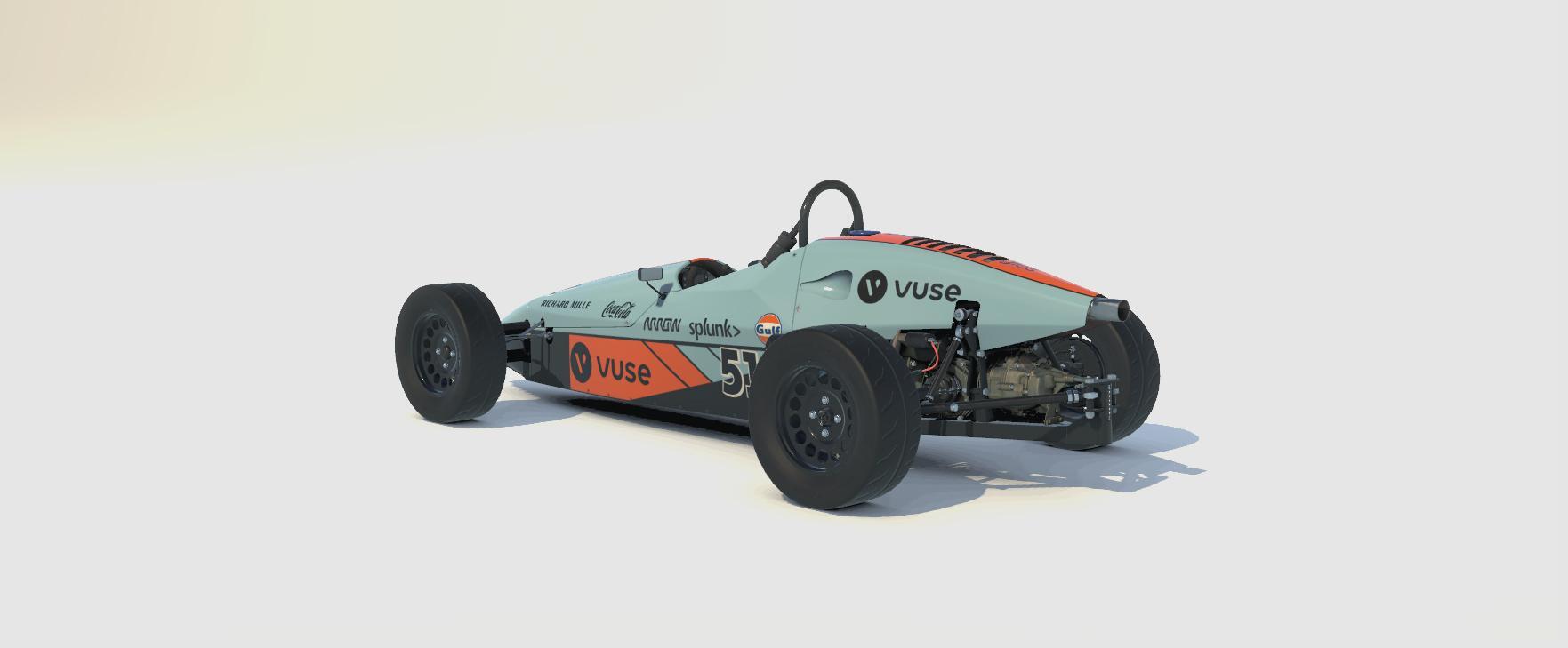 Preview of Formula Vee - GULF McLaren Monaco 2021 by Neil R.